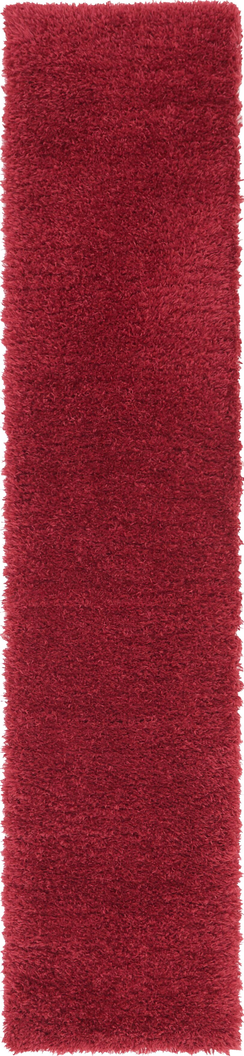 Red Area Rug Rug Size: Runner 2' x 10'