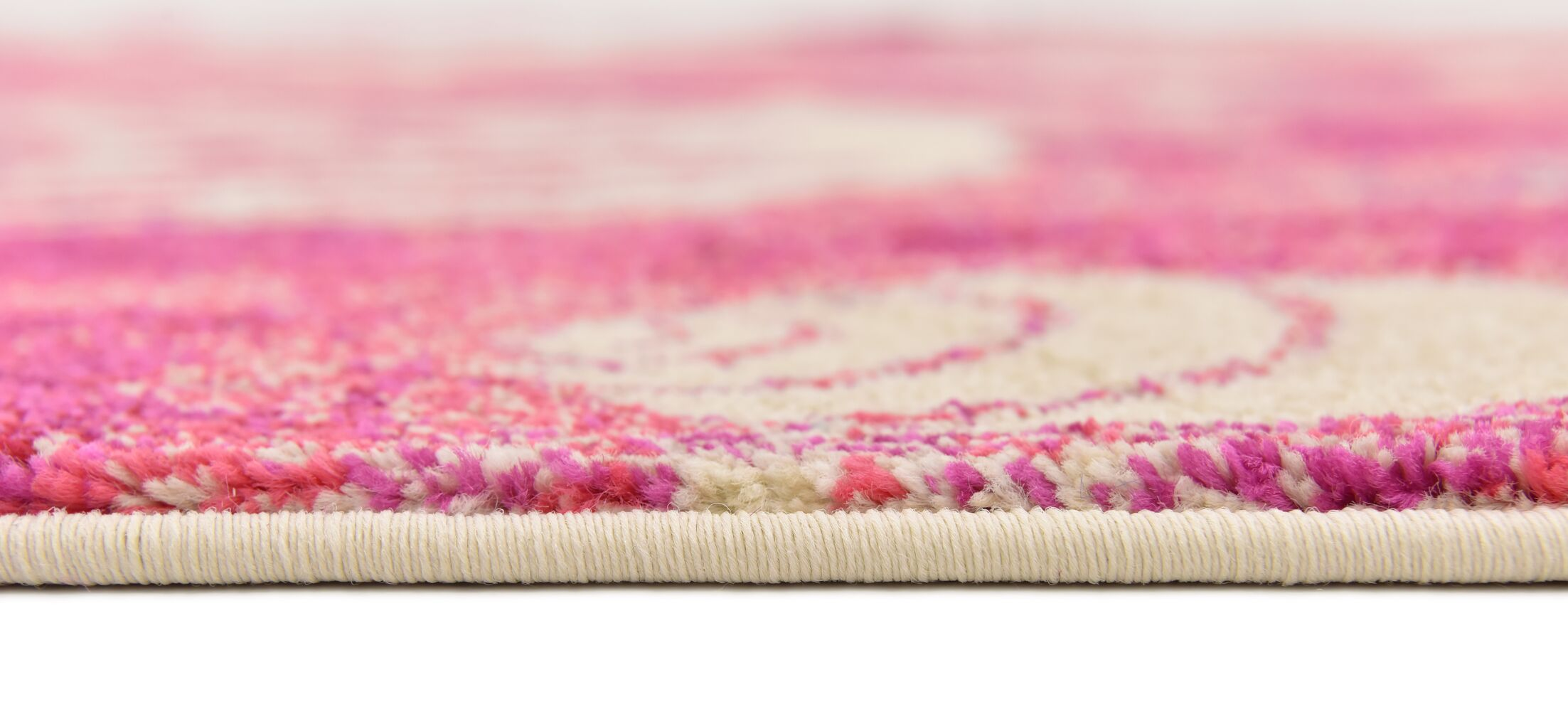 Dickenson Pink Area Rug Rug Size: Rectangle 5' x 8'