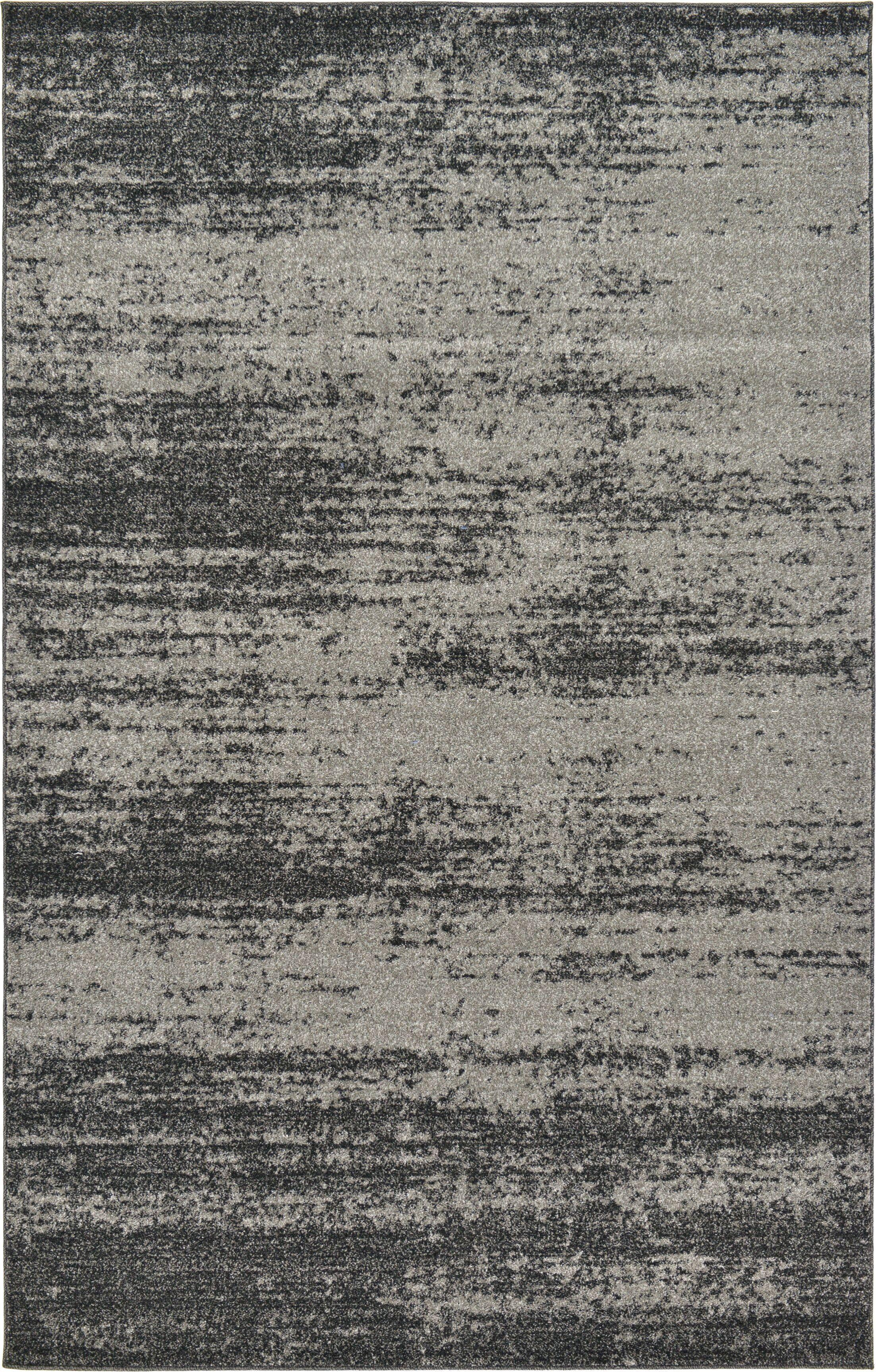 Croslin Gray Area Rug Rug Size: Rectangle 5' x 8'
