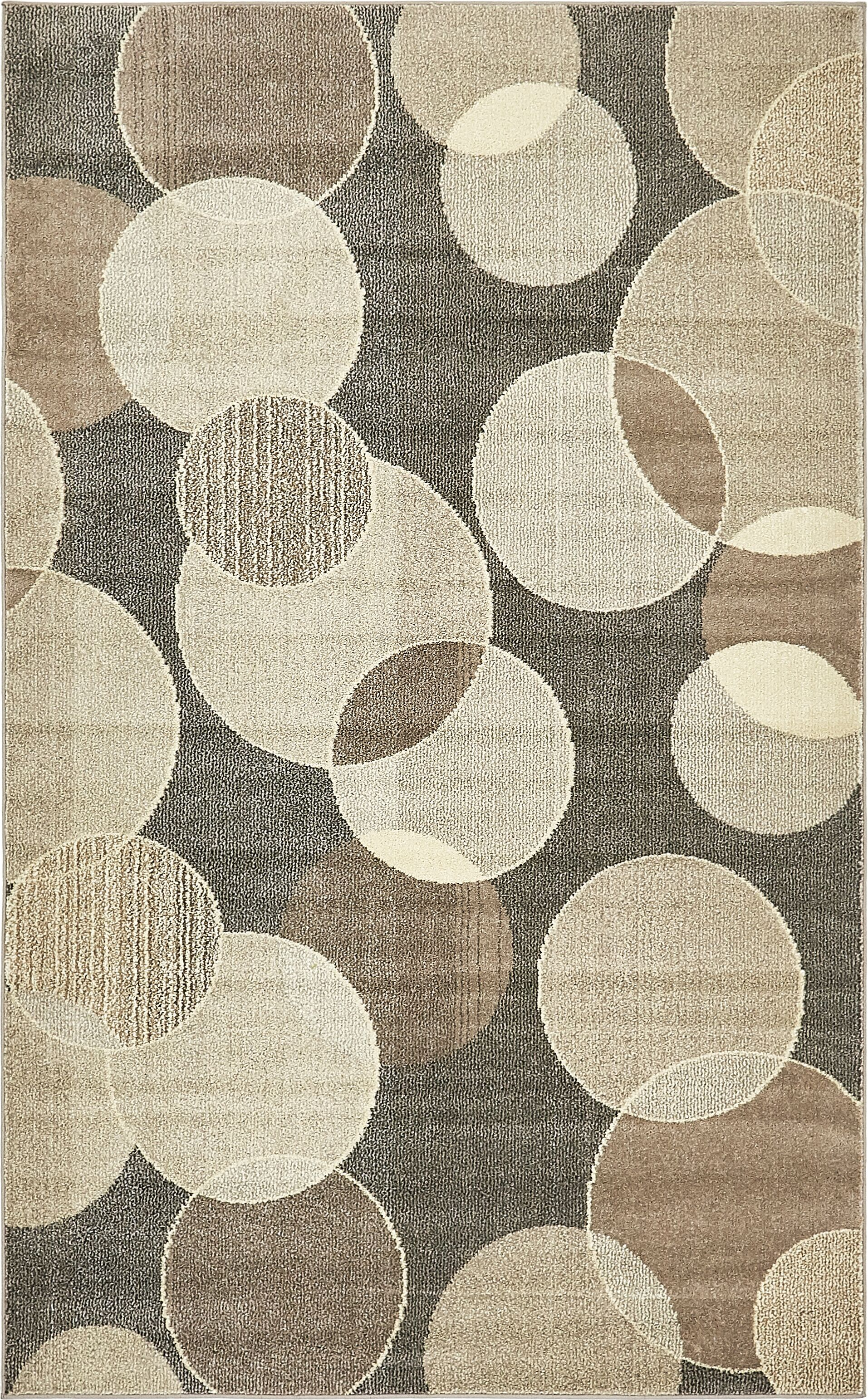 Chenango Rectangle Gray Area Rug Rug Size: Rectangle 5' x 8'