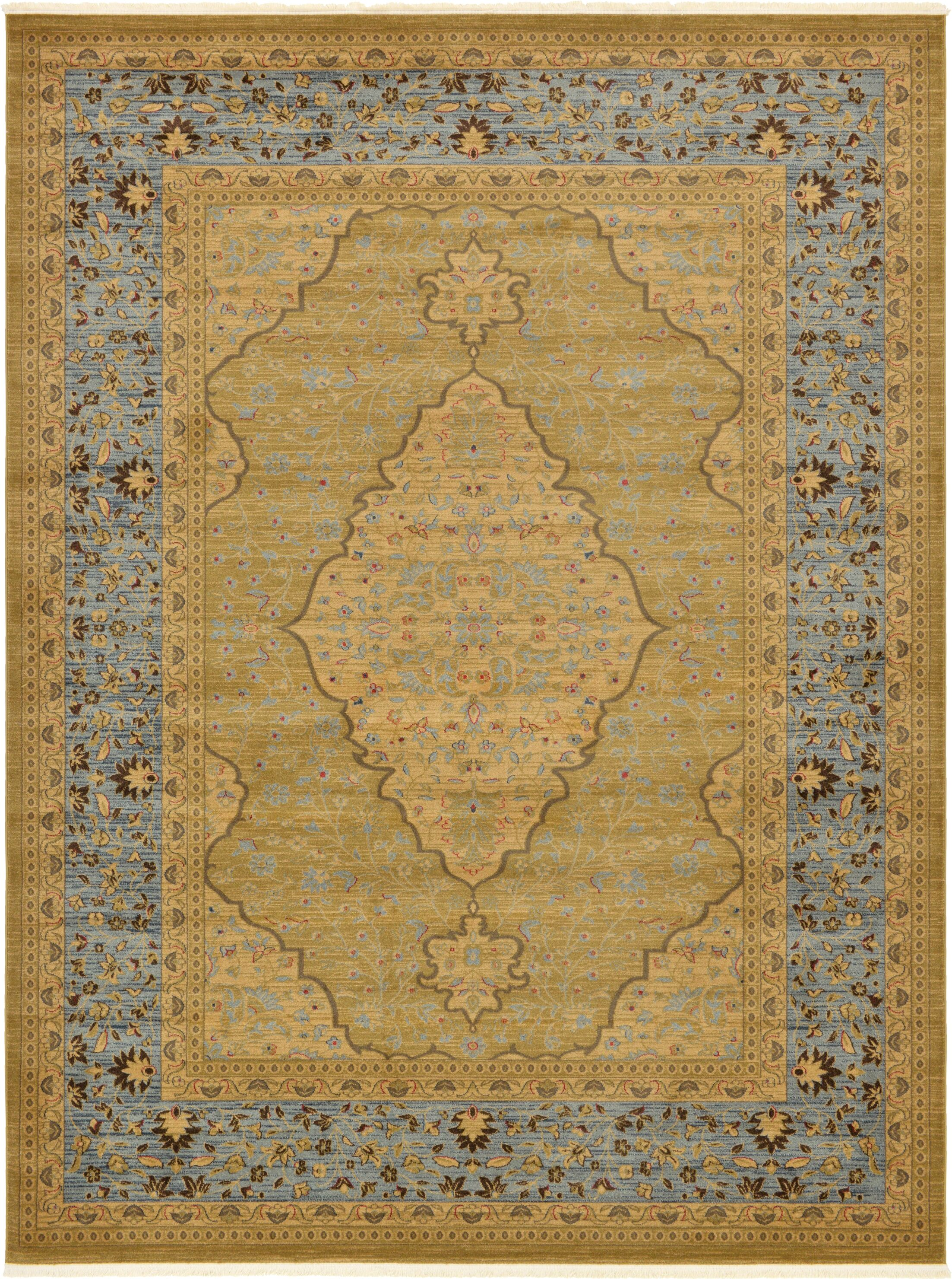 Fonciere Light Brown Area Rug Rug Size: Rectangle 9' x 12'