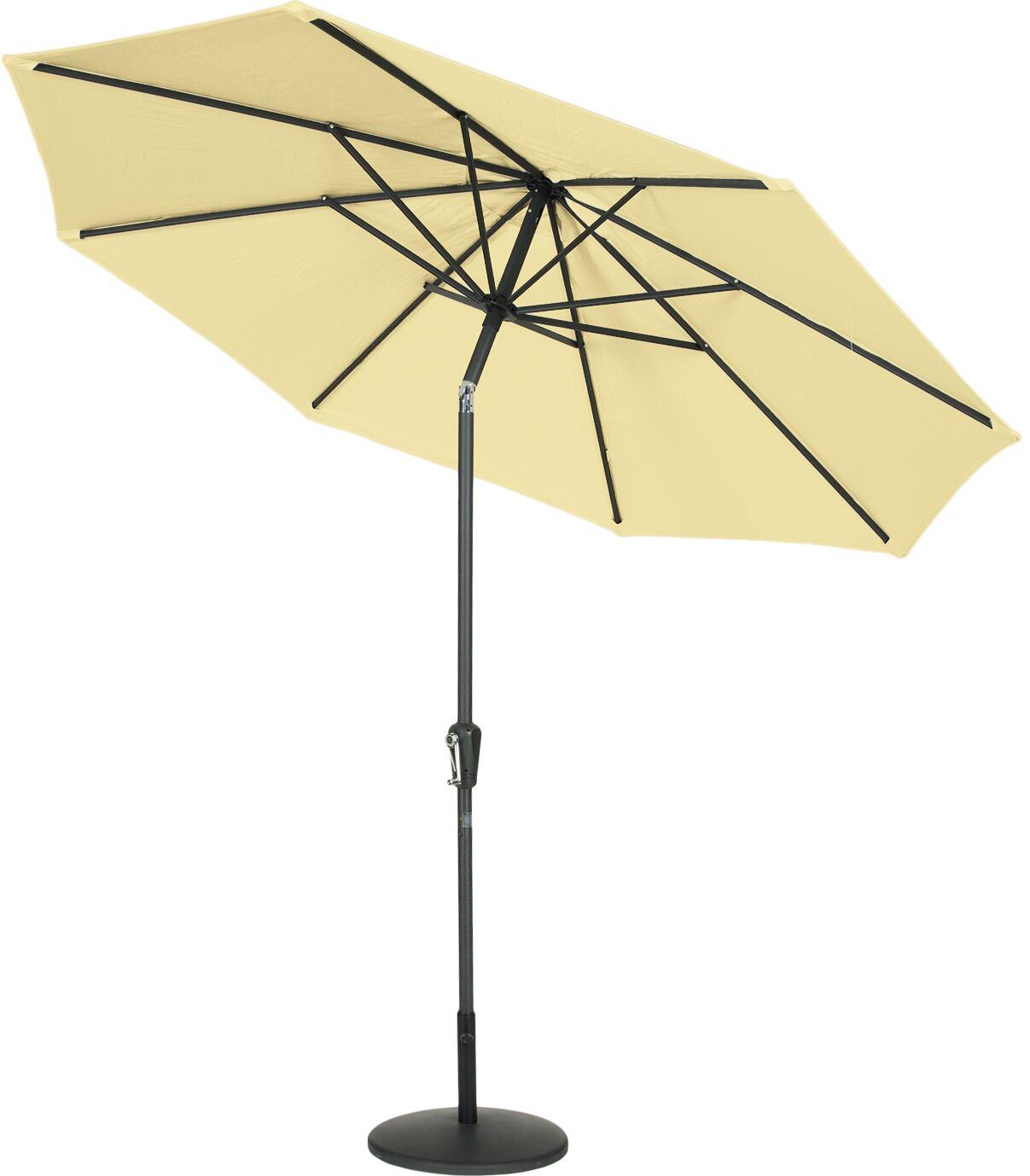 9' Market Umbrella Fabric: Wheat