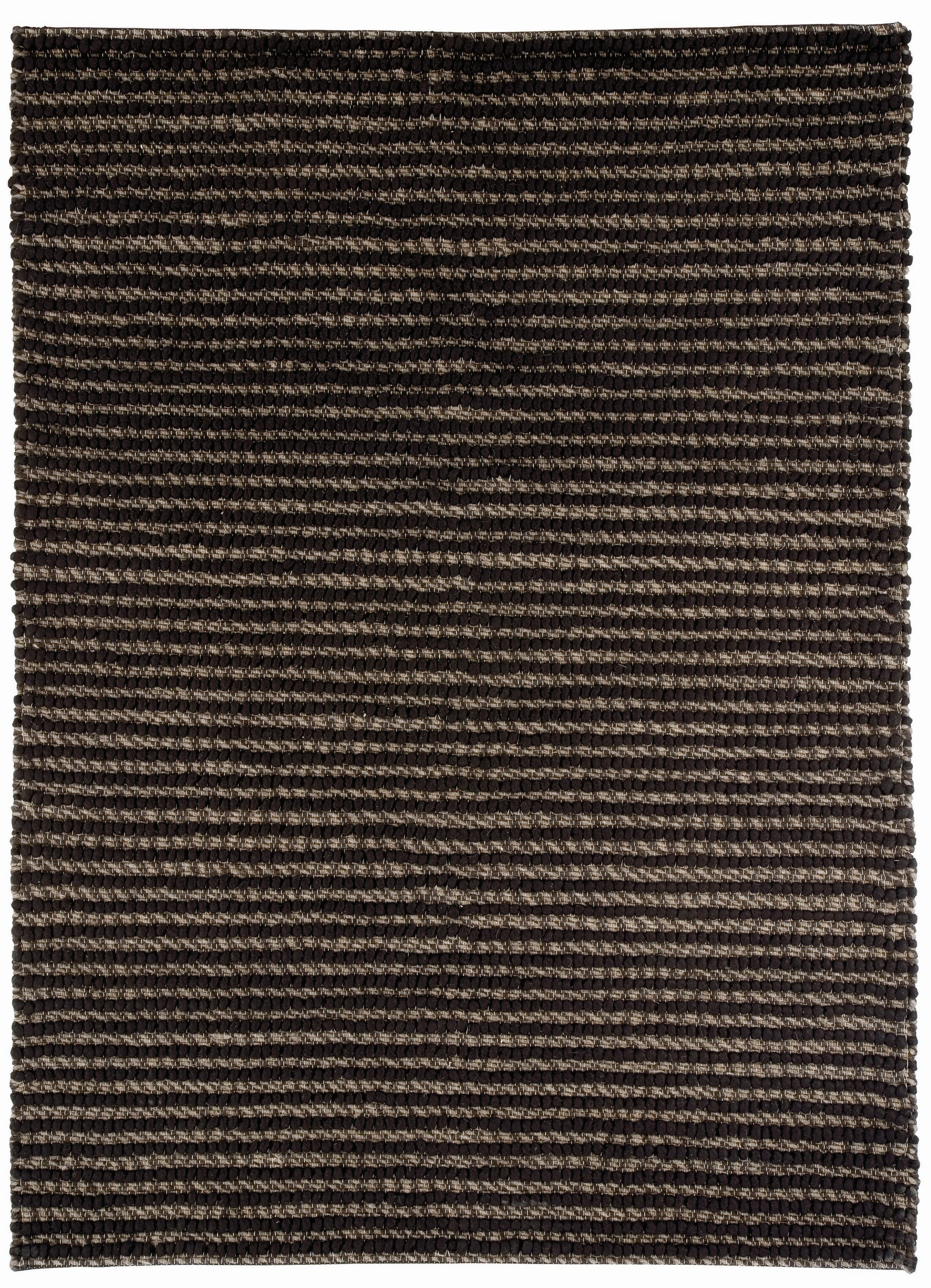 Wool Brown Area Rug Rug Size: Rectangle 6'8