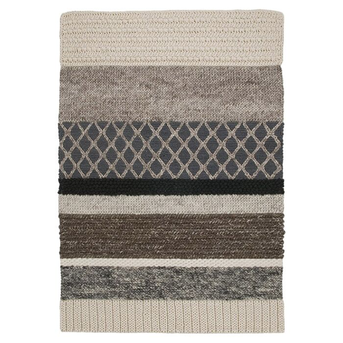 Mangas Natural Area Rug Rug Size: 5'7
