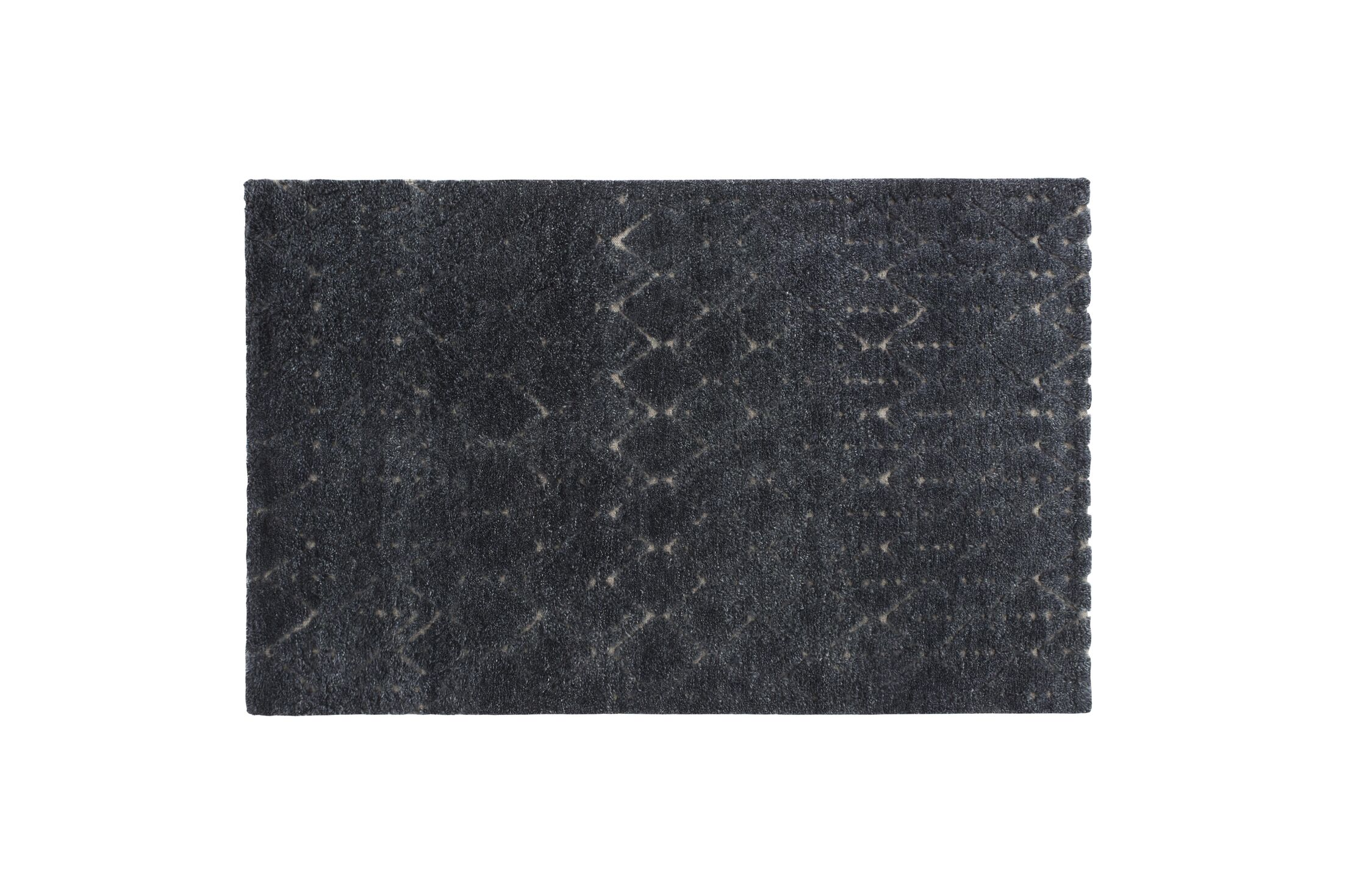 Tribal Chic Hand Knotted Bereber Area Rug Rug Size: 6'8