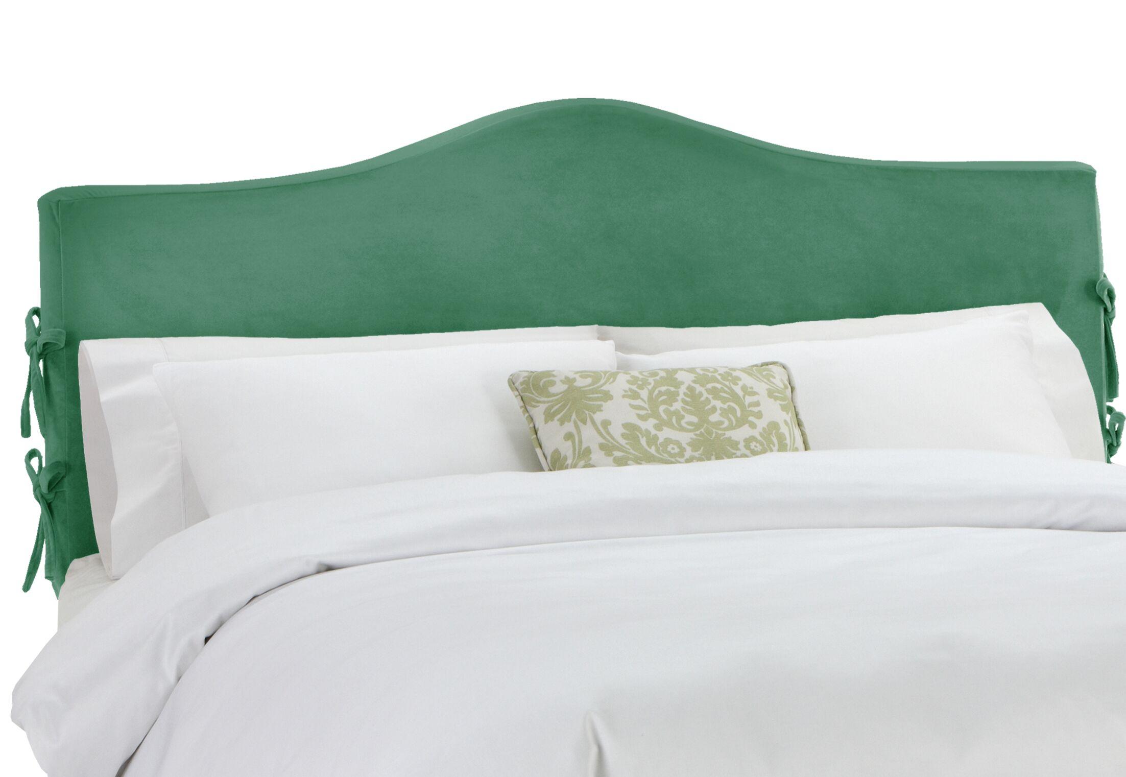 Anis Slipcover Upholstered Panel Headboard Upholstery: Regal Laguna, Size: California King