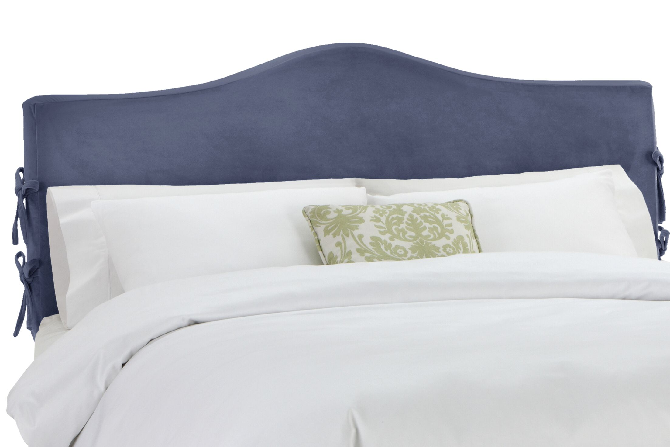 Anis Slipcover Upholstered Panel Headboard Upholstery: Regal Ocean, Size: California King