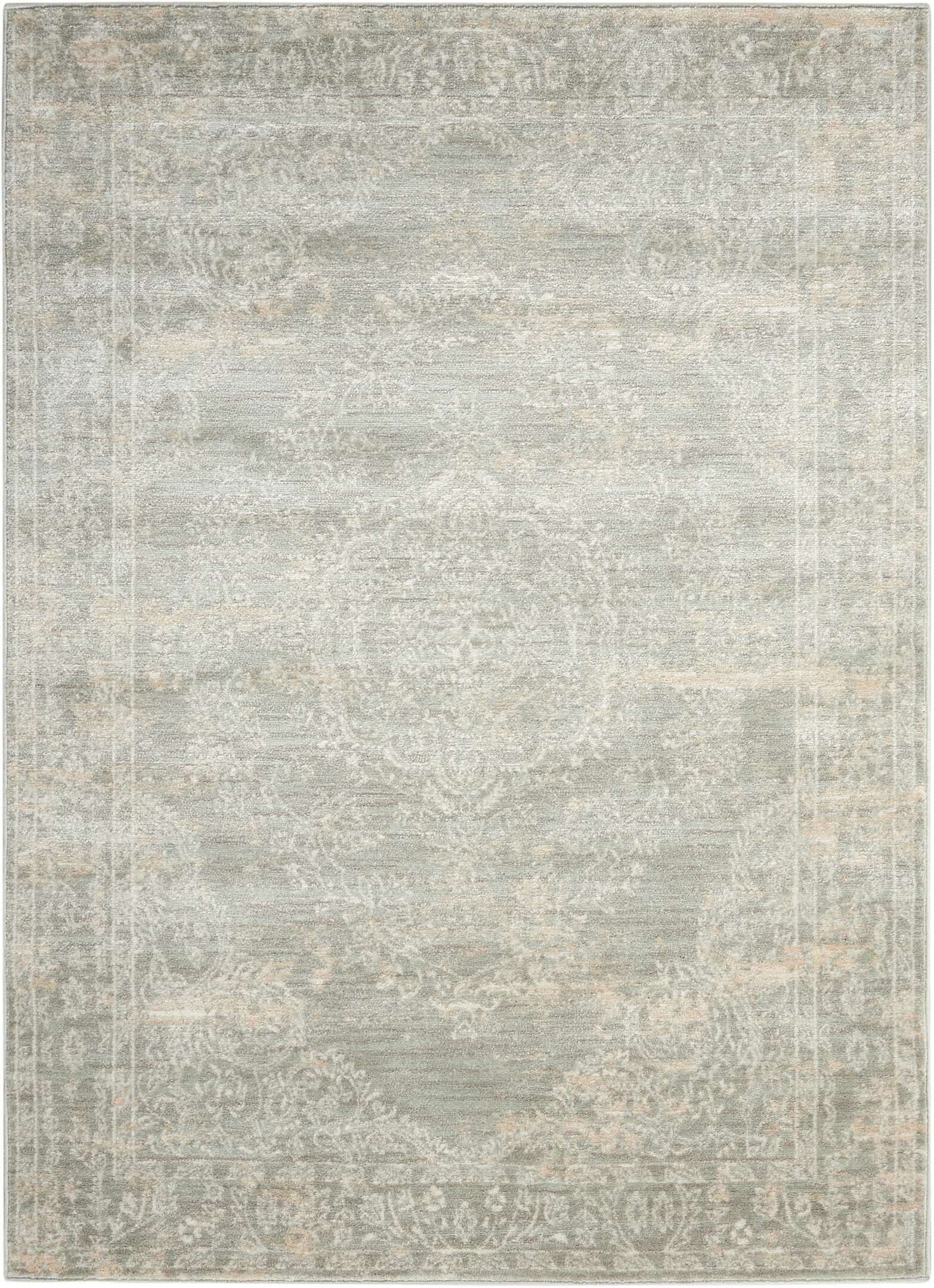 Angelique Gray Area Rug Rug Size: Rectangle 5'3
