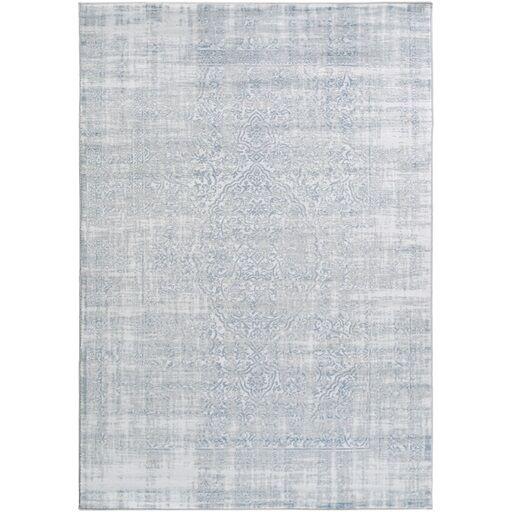 Ismay Blue Area Rug Rug Size: Rectangle 7'8