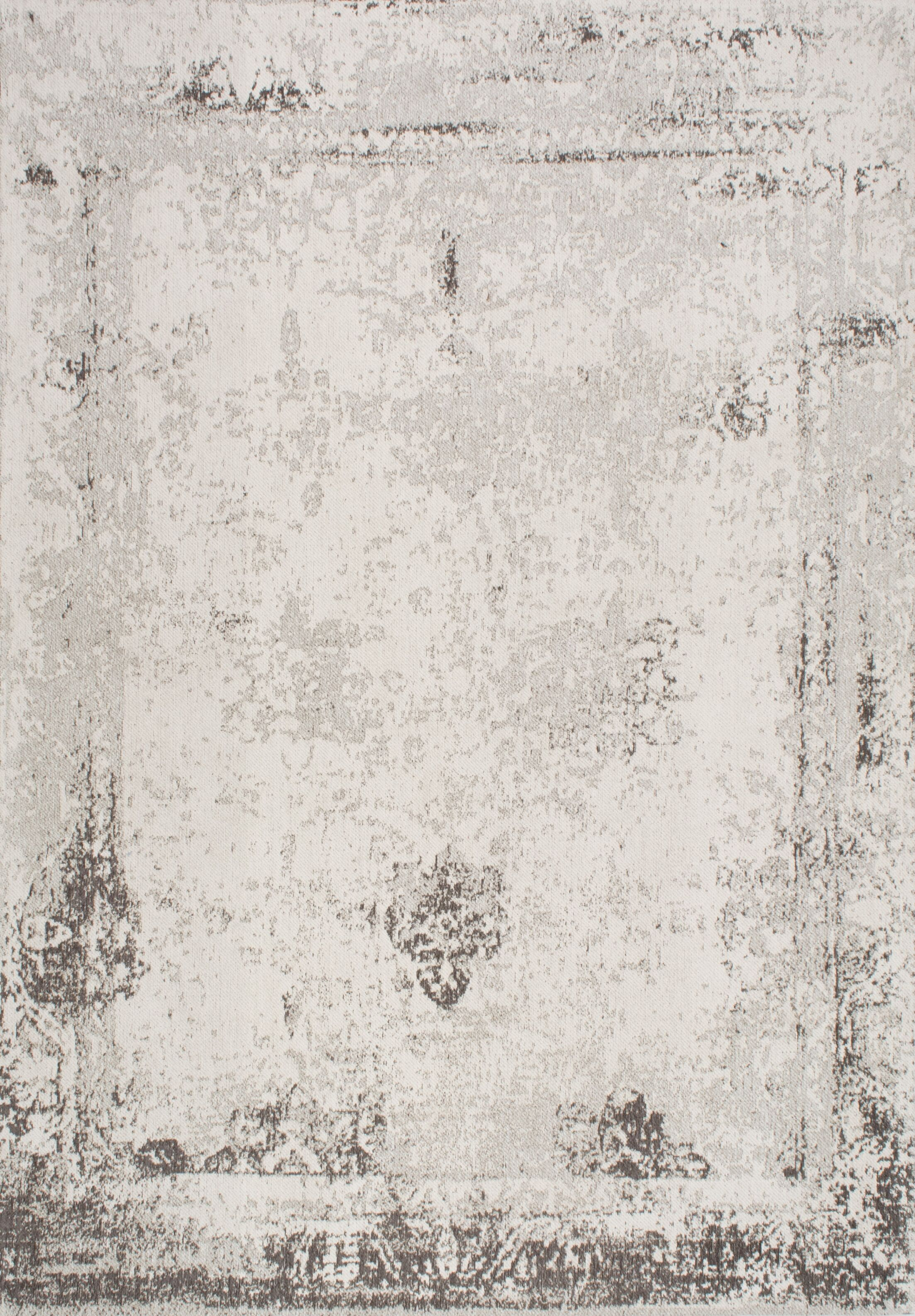 Chartres Handmade Grey Area Rug Rug Size: Rectangle 8'6