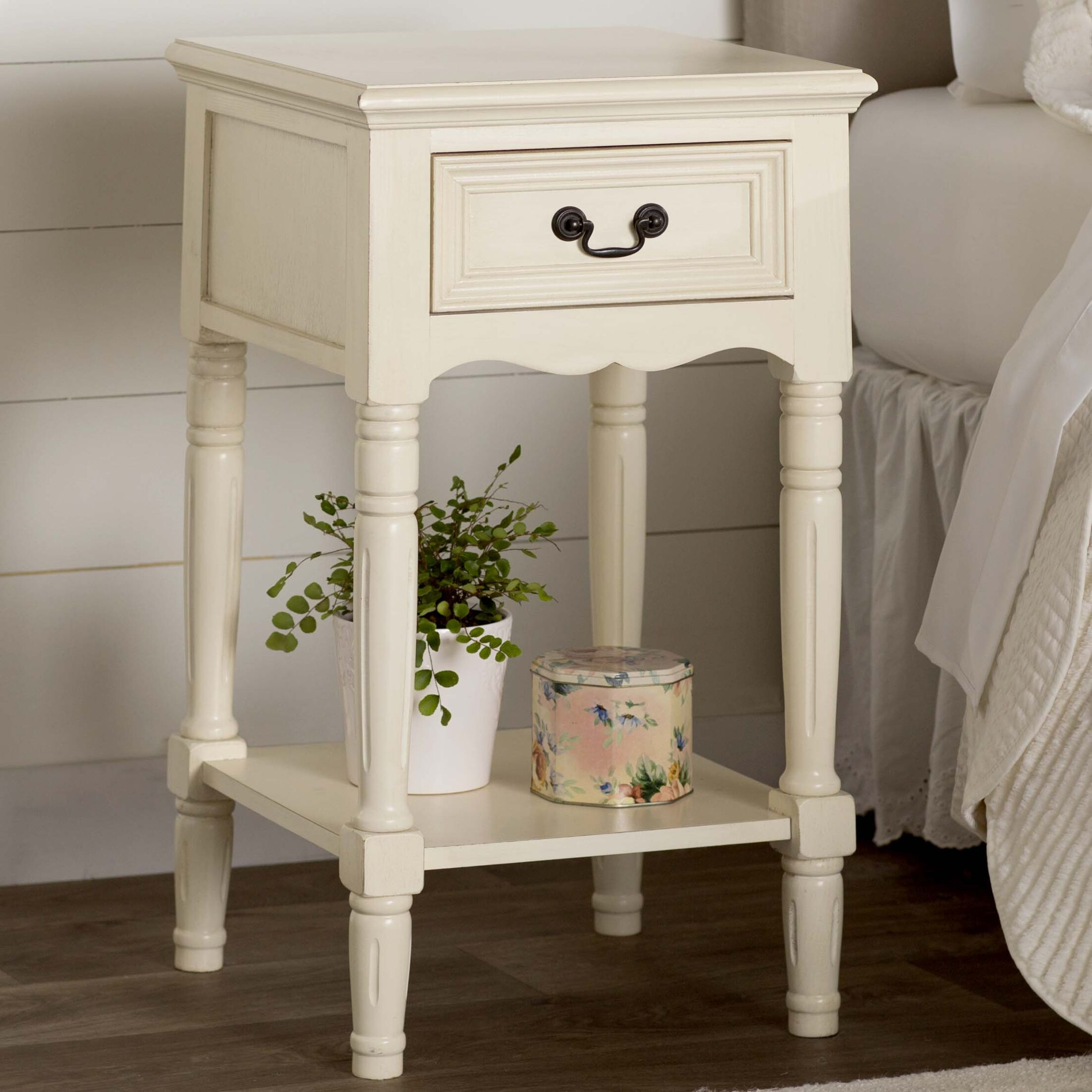 Yvelines 1 Drawer Nightstand