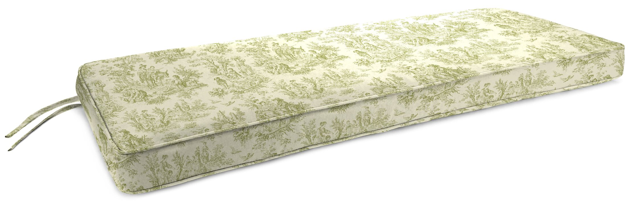 Indoor Bench Cushion Fabric: Charmed Life Tarragon
