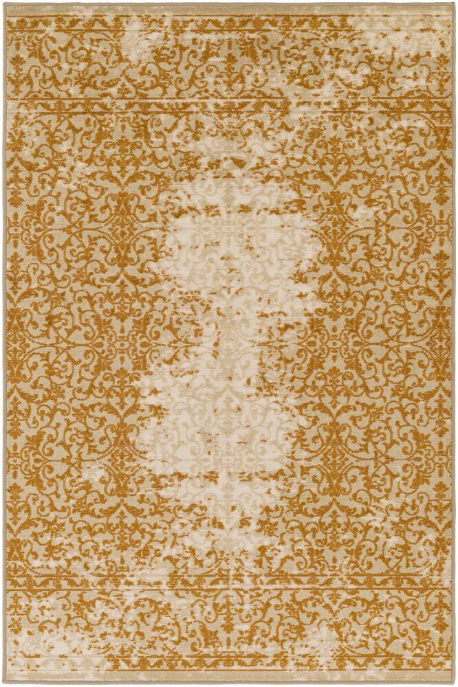 Cassie Beige/Brown Area Rug Rug Size: Rectangle 5' x 8'