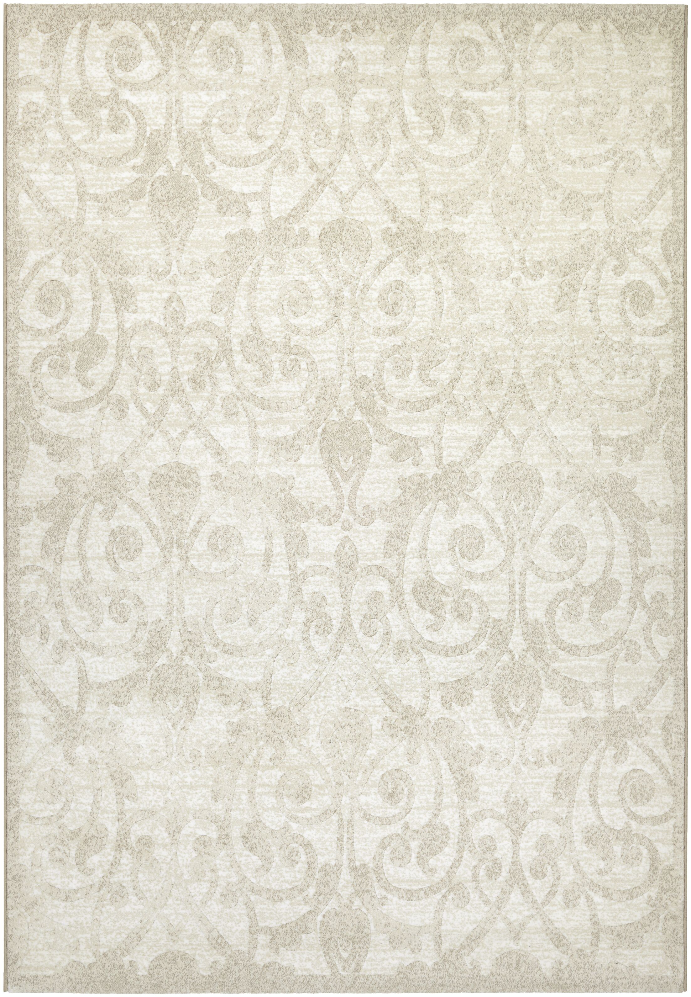 Elise Champagne Area Rug Rug Size: Rectangle 7'10