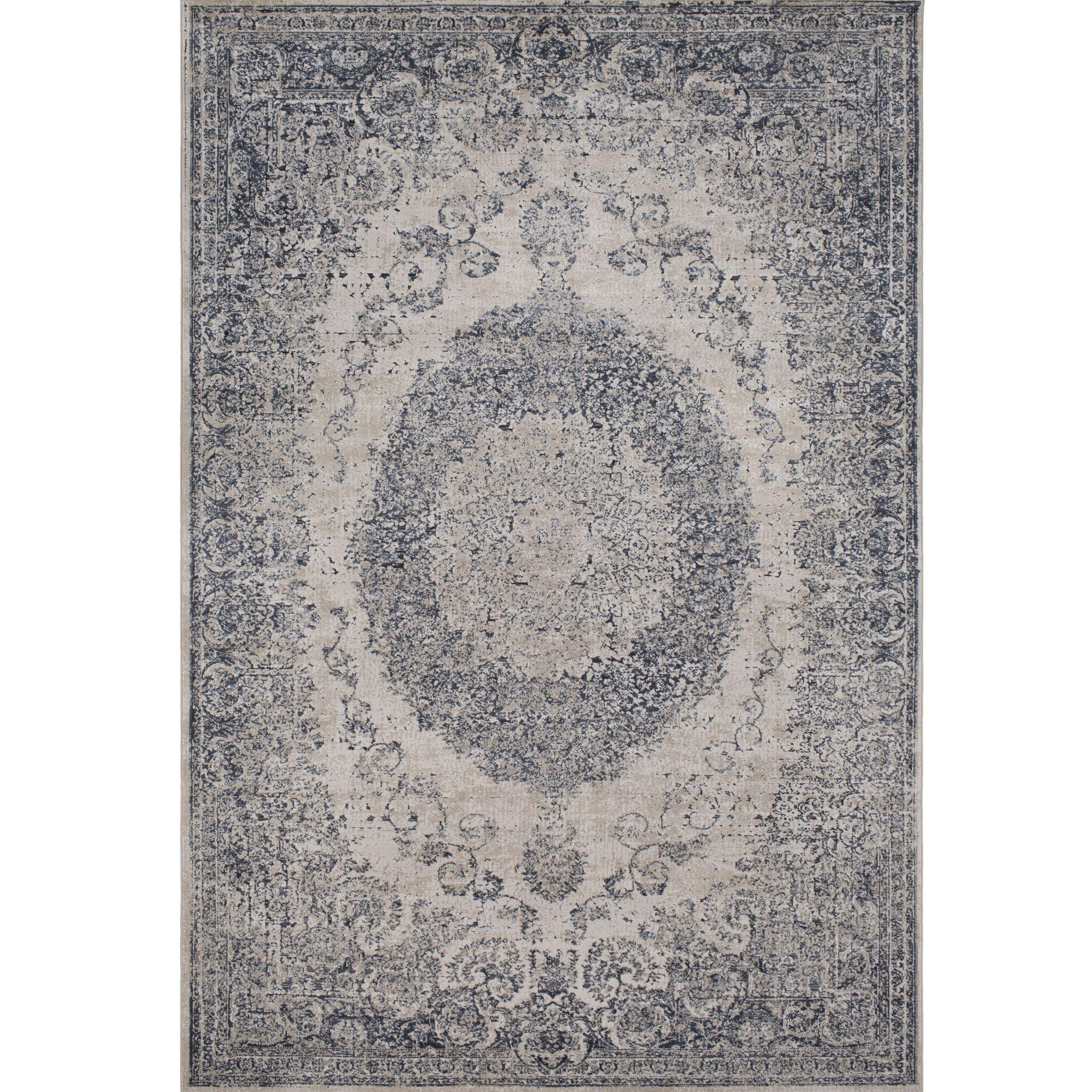 Hummell Traditional Tibetan Gray Area Rug Rug Size: Rectangle 6'7