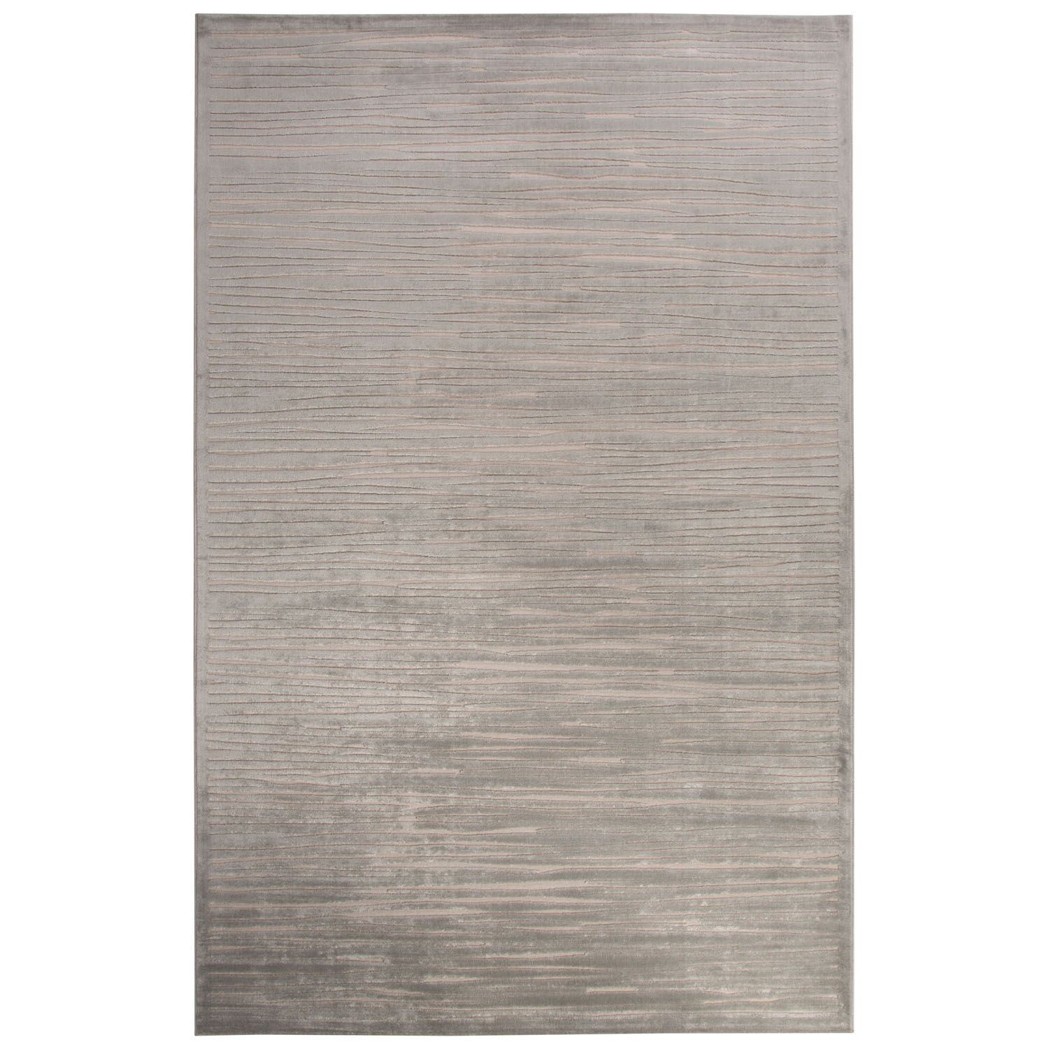 Pariaman Light Gray/Ivory Area Rug Rug Size: Rectangle 5' x 7'6