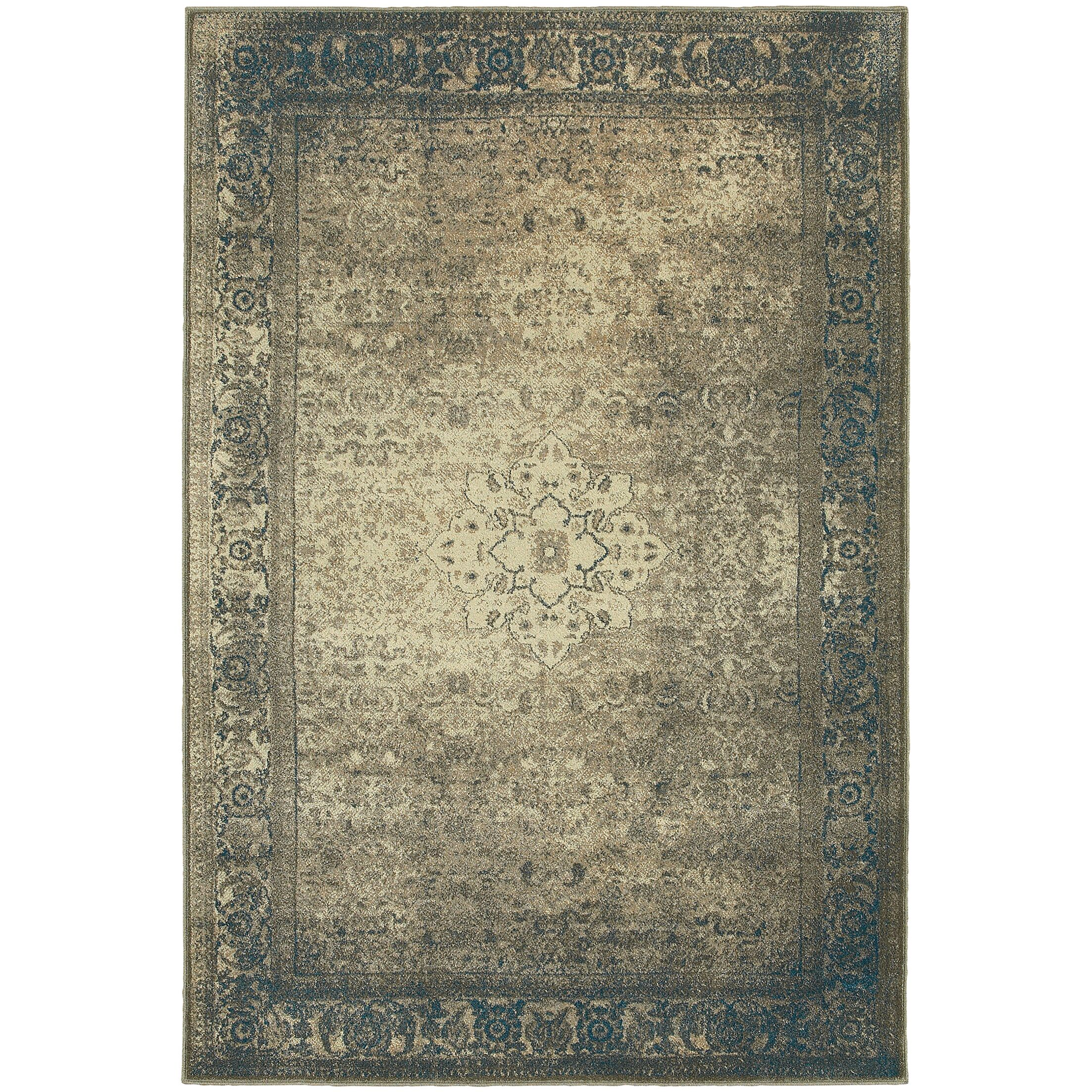 Marche Beige Area Rug Rug Size: Rectangle 5'3