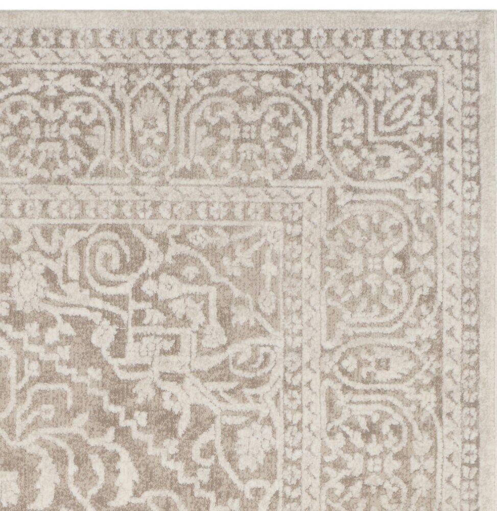 Pellot Beige/Cream Area Rug Rug Size: Rectangle 4' x 6'