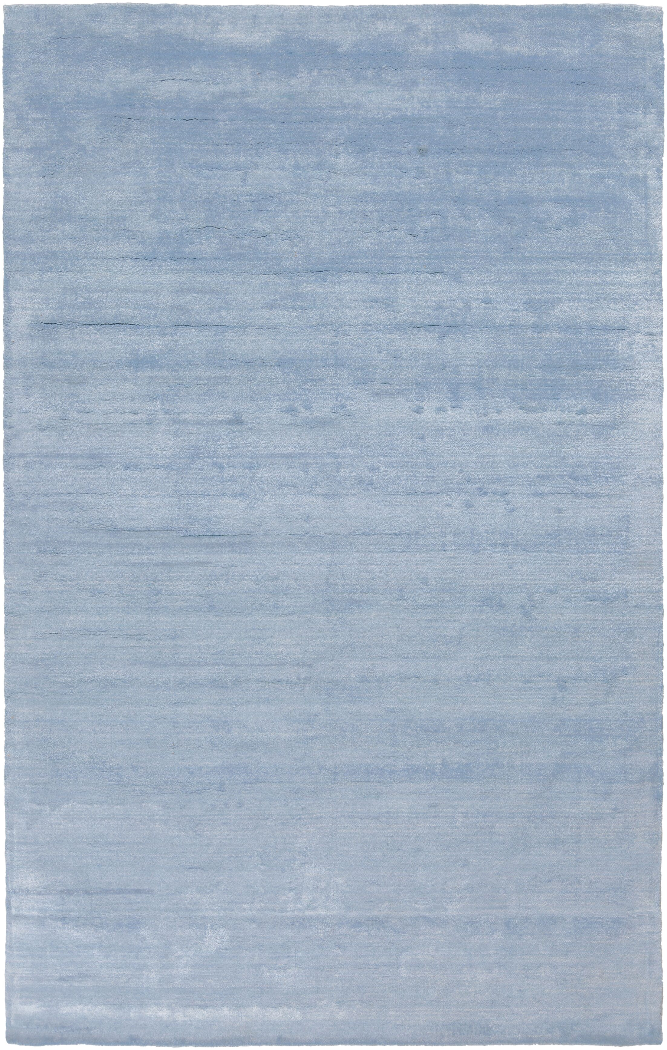 Oxendine Hand Woven Sky Blue Area Rug Rug Size: Rectangle 8' x 10'