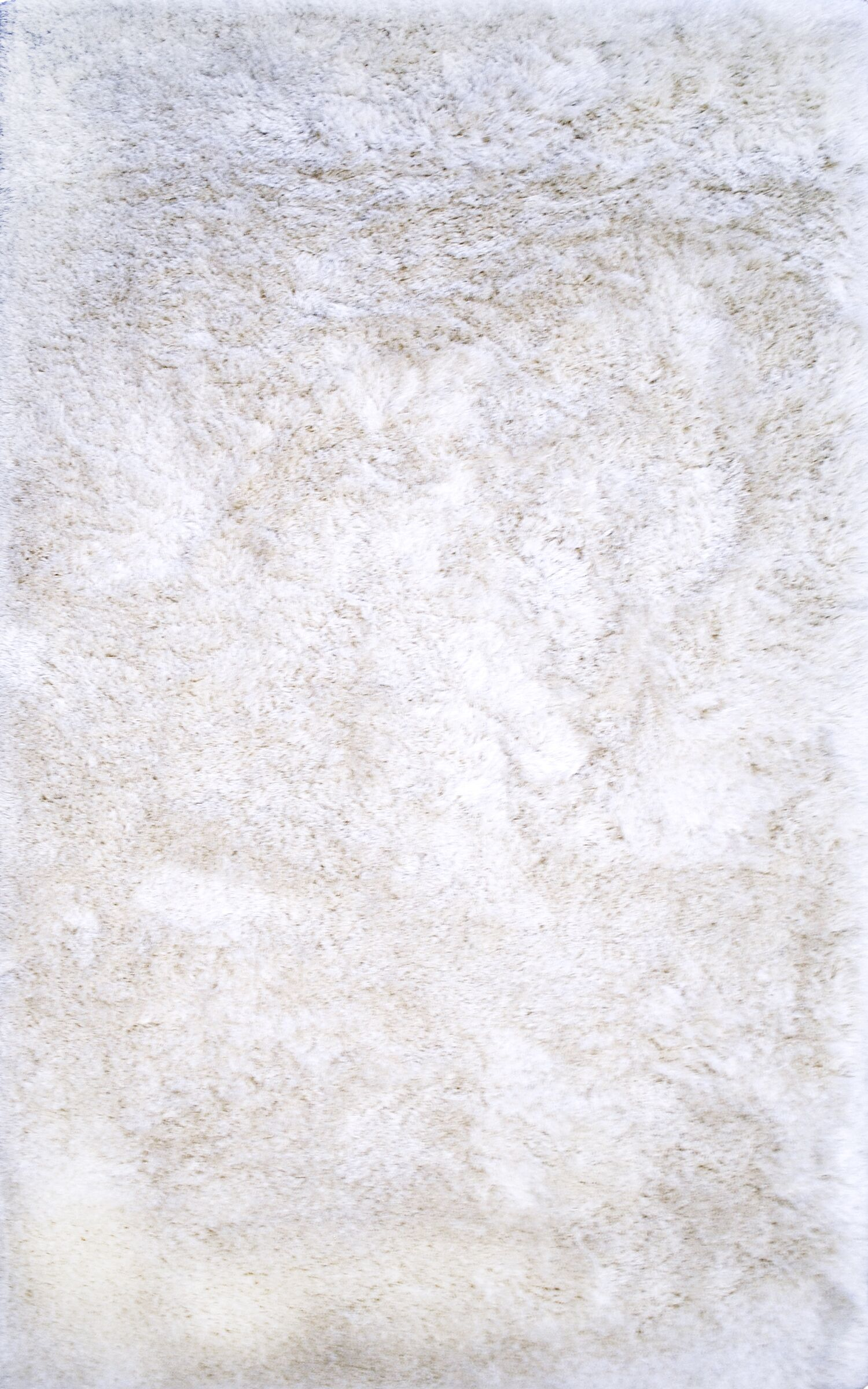 Keely White Area Rug Rug Size: Rectangle 8' x 10'