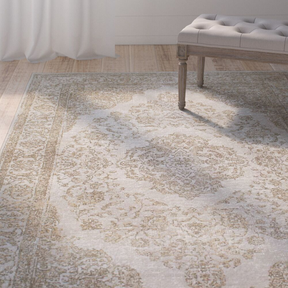 Boville Brown Area Rug Rug Size: Rectangle 5' x 8'