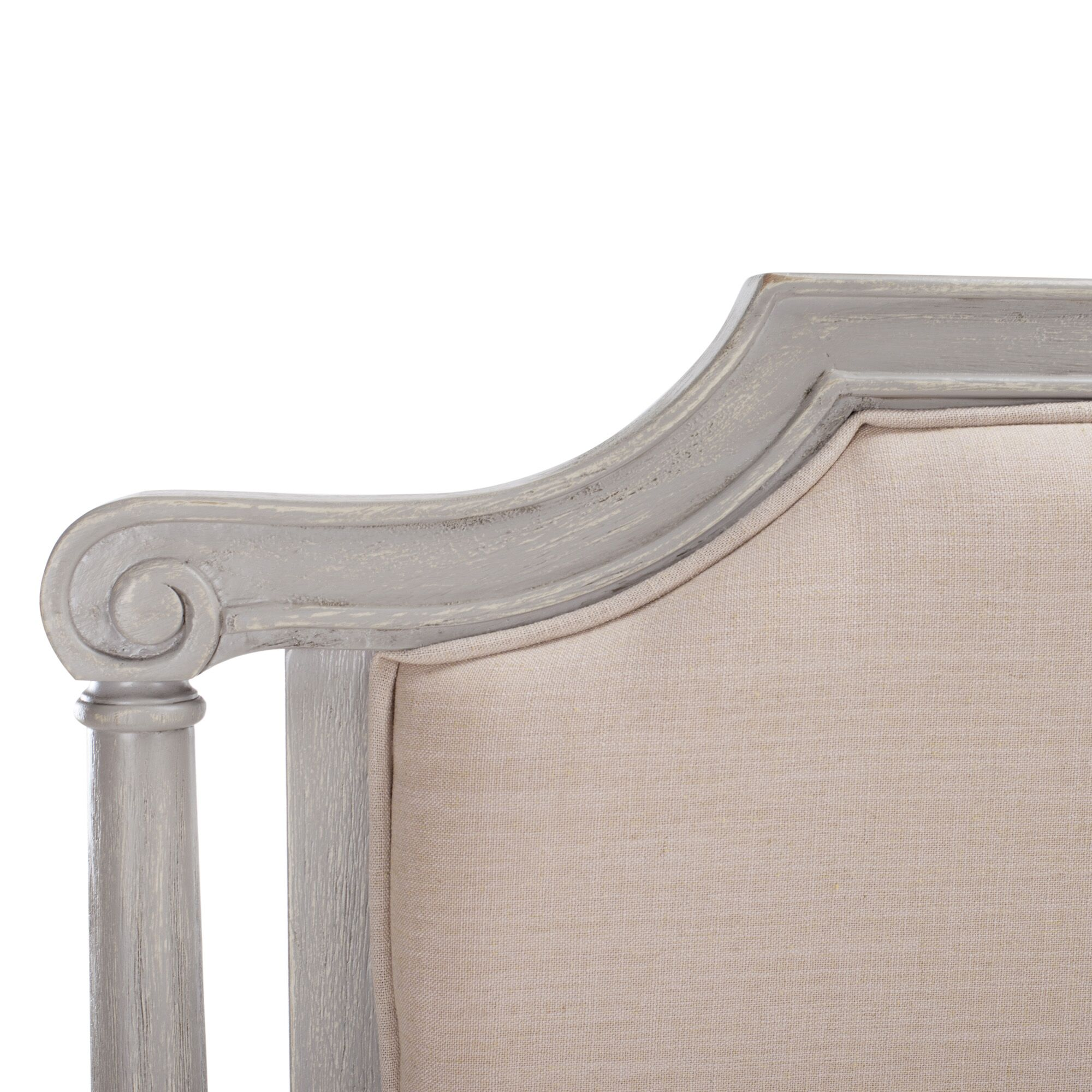 Tadoussac Upholstered Panel Headboard Size: Full, Color: Biege