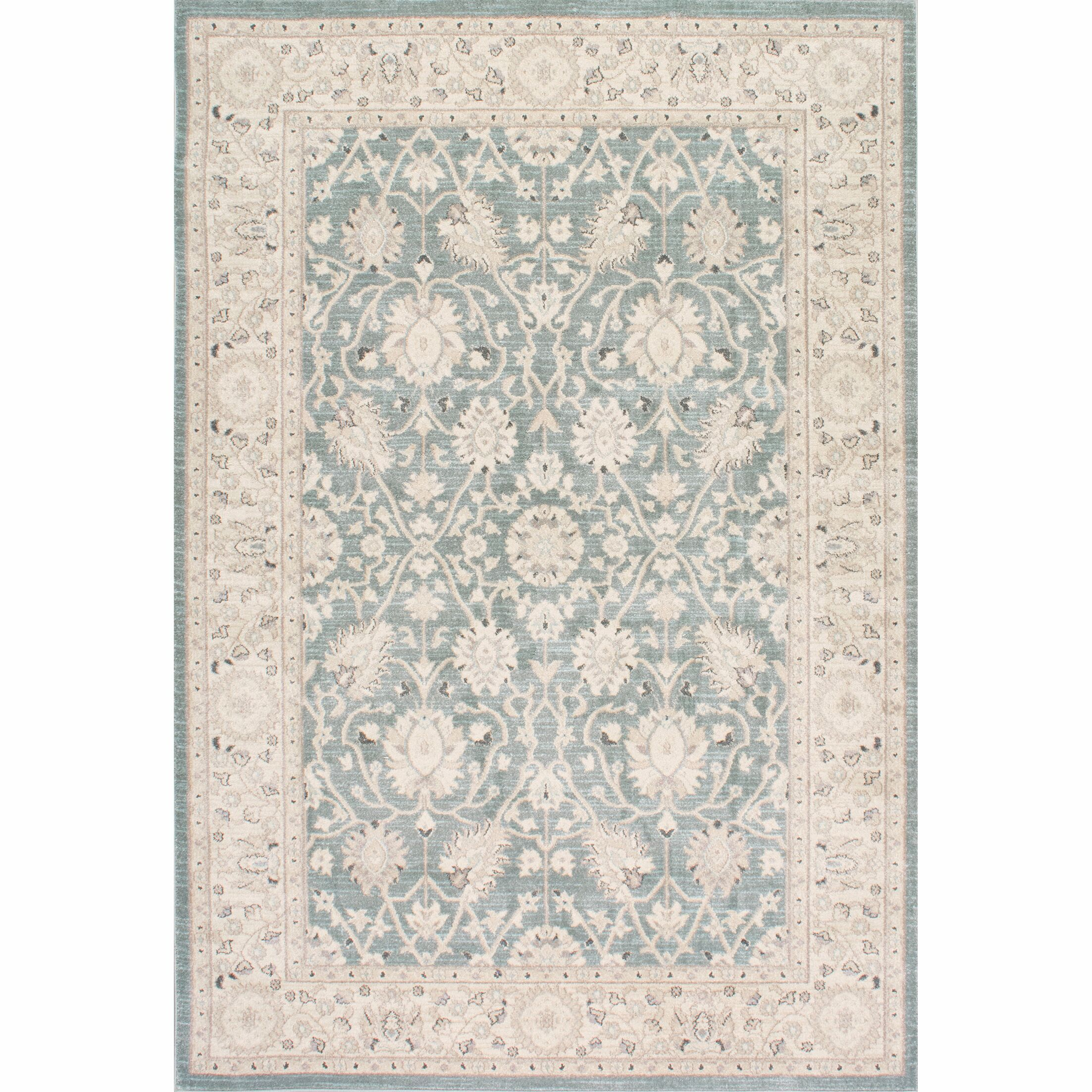 Rochelle Blue/Beige Area Rug Rug Size: Rectangle 9' x 12'