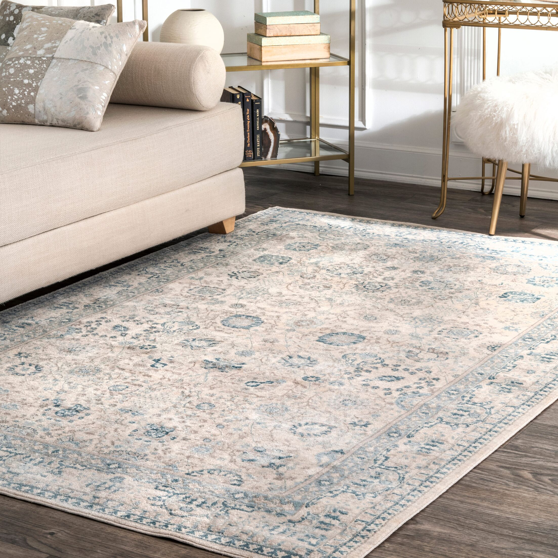 Armancourt Bone Area Rug Rug Size: Rectangle 7'10