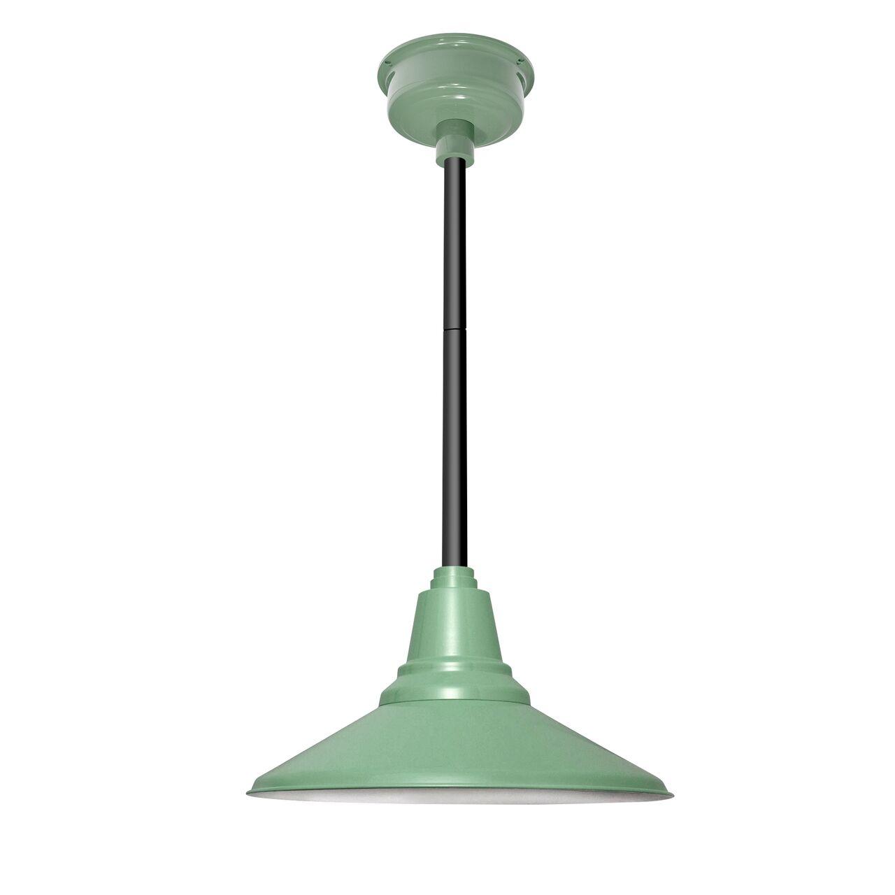 Calla 1-Light  LED Cone Pendant Finish: Jade, Size: 48