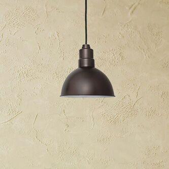 Peony Blackspot  LED Cone Pendant Size: 48