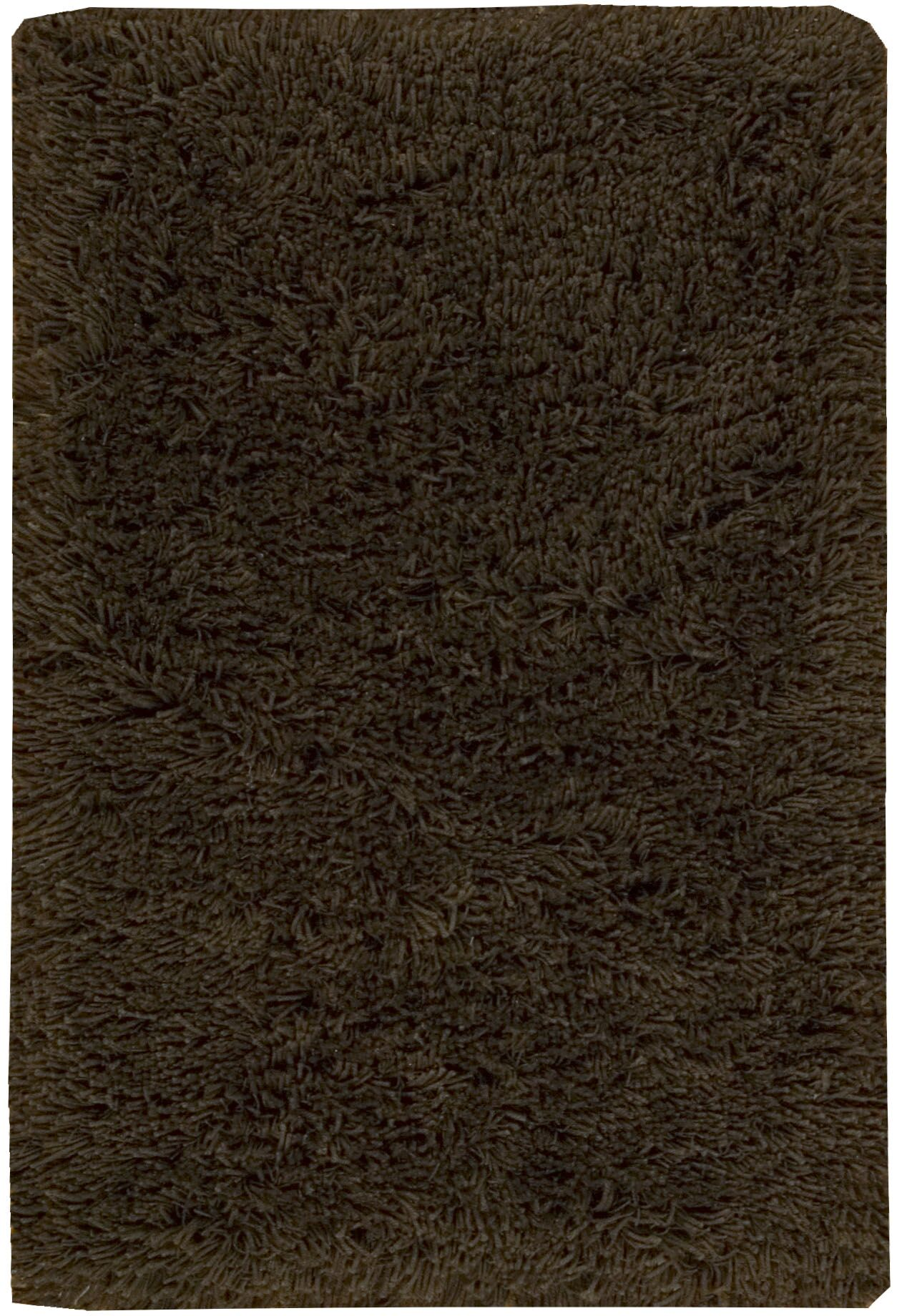 Wallaceton Hand-Woven Chocolate Area Rug Rug Size: Rectangle 5' x 8'