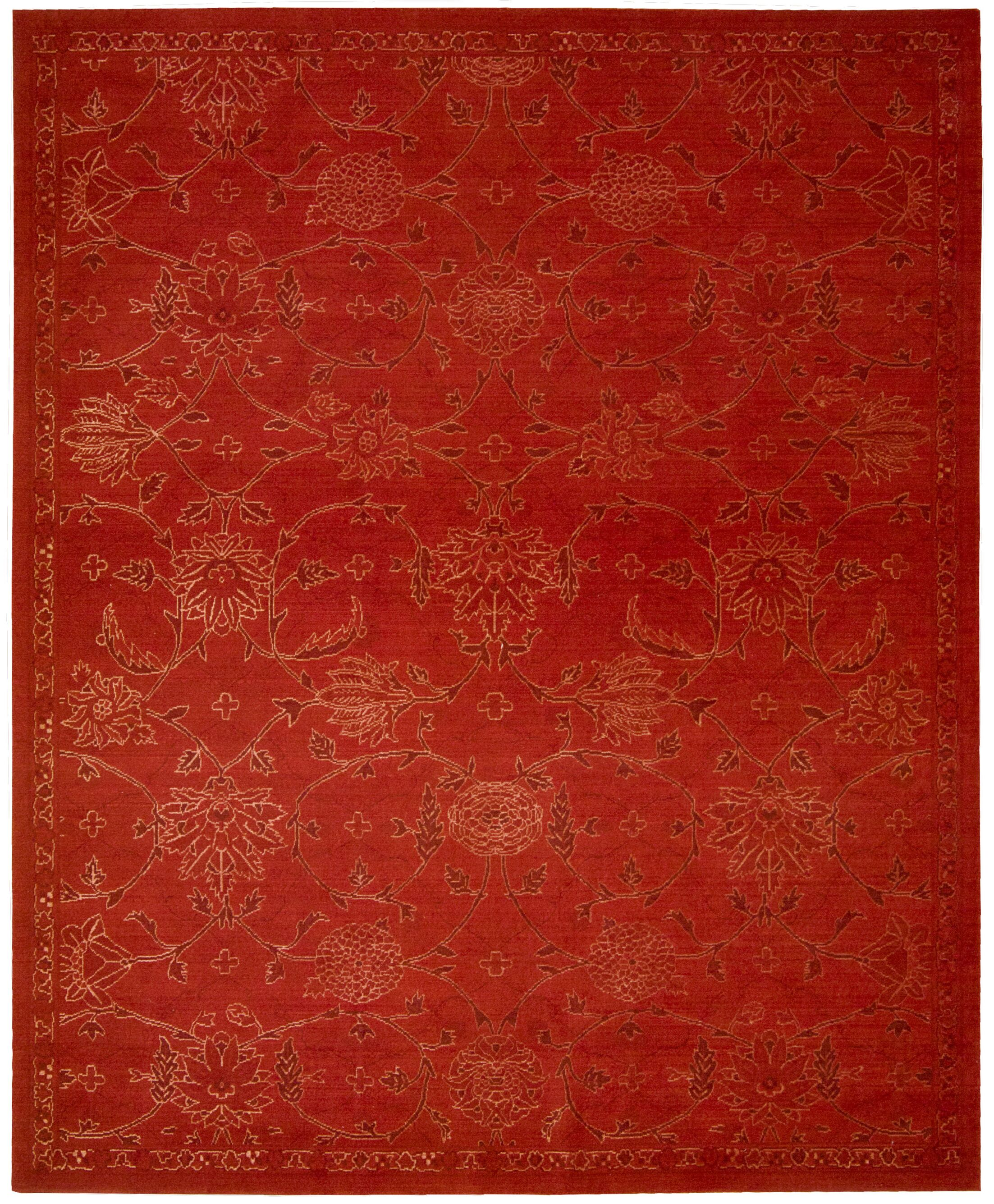 Pine Air Red Area Rug Rug Size: Rectangle 9'9