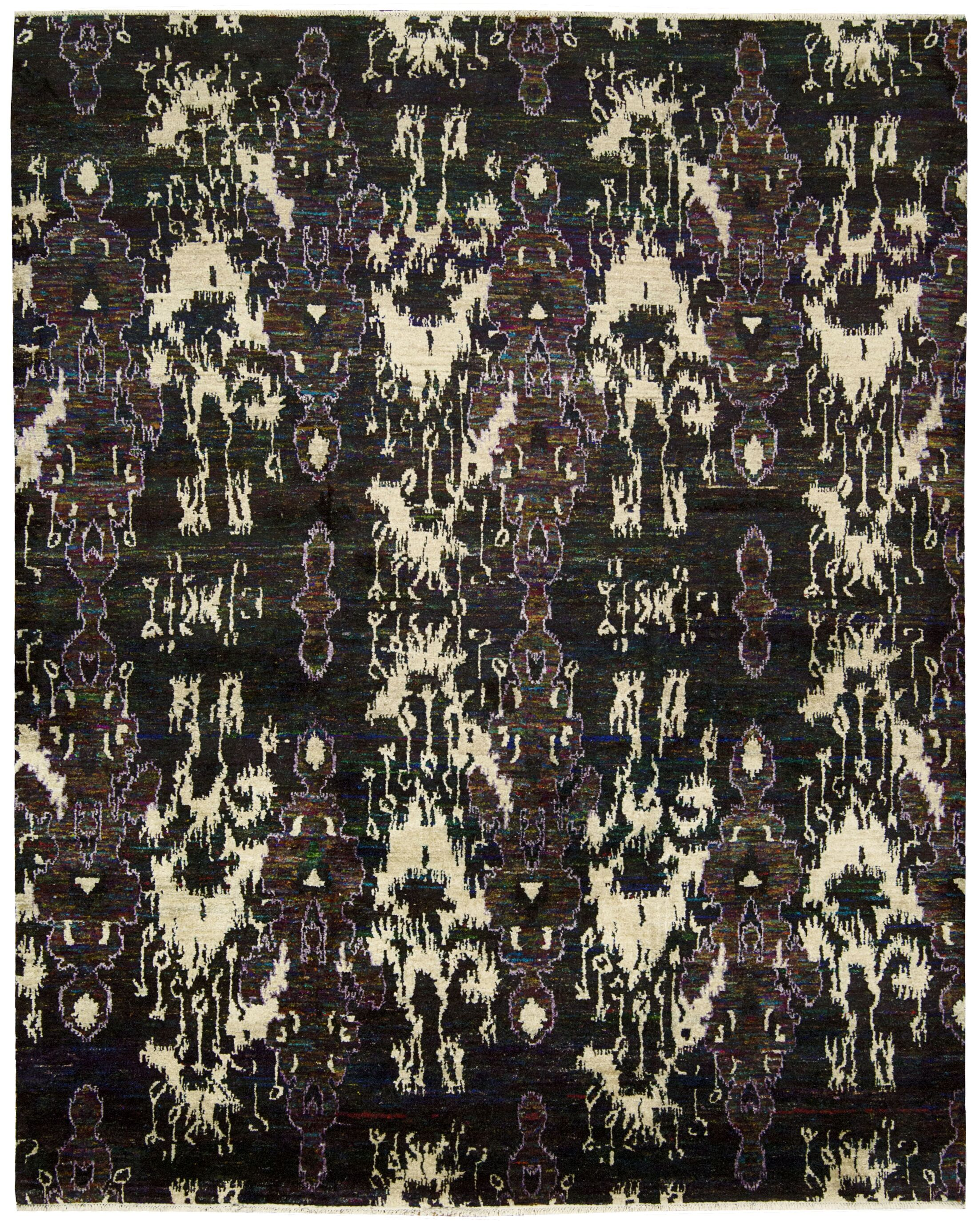 Pinos Modern Hand knotted Area Rug Rug Size: Rectangle 8'6
