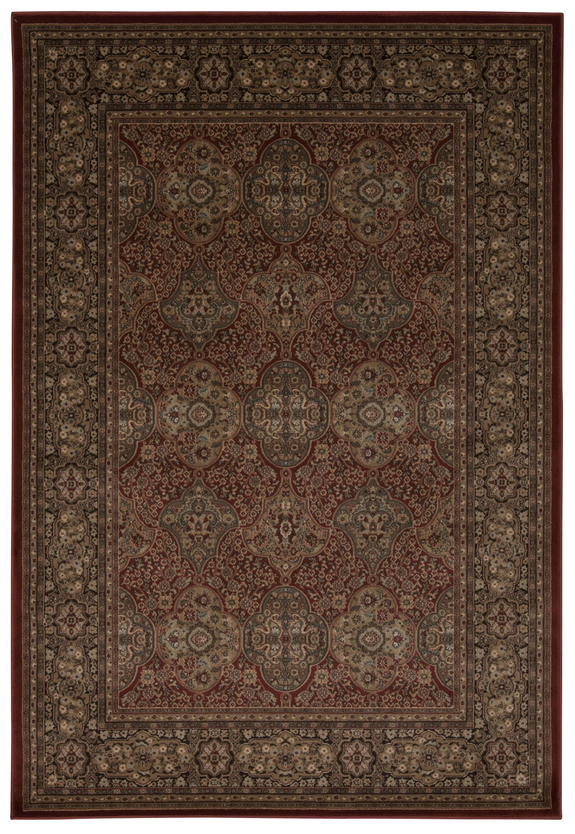 Druid Hill Rust Area Rug Rug Size: Rectangle 9'3