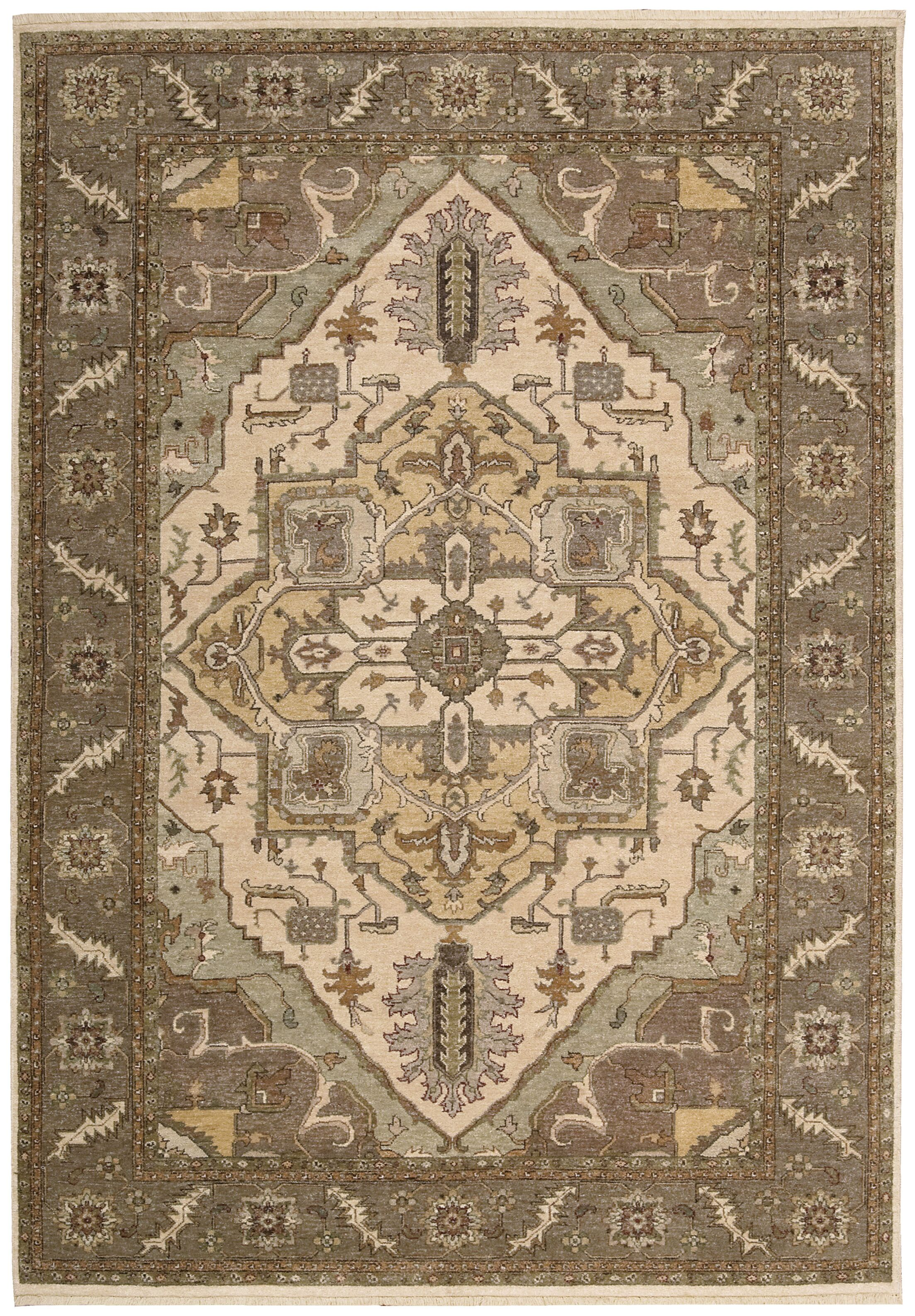 Degory Beige Area Rug Rug Size: Rectangle 5'6