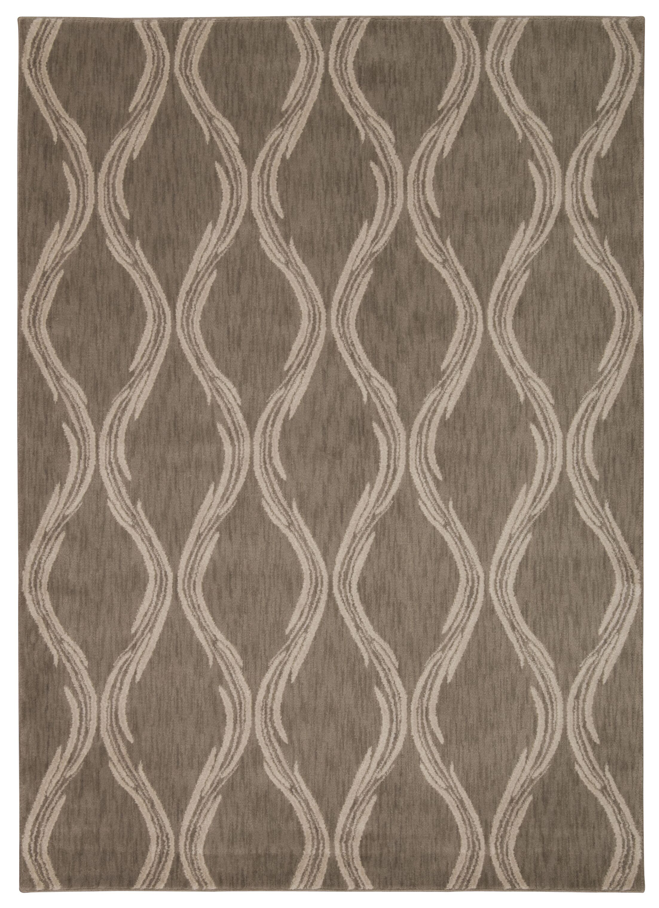 Galsworthy Taupe Area Rug Rug Size: Rectangle 7'9