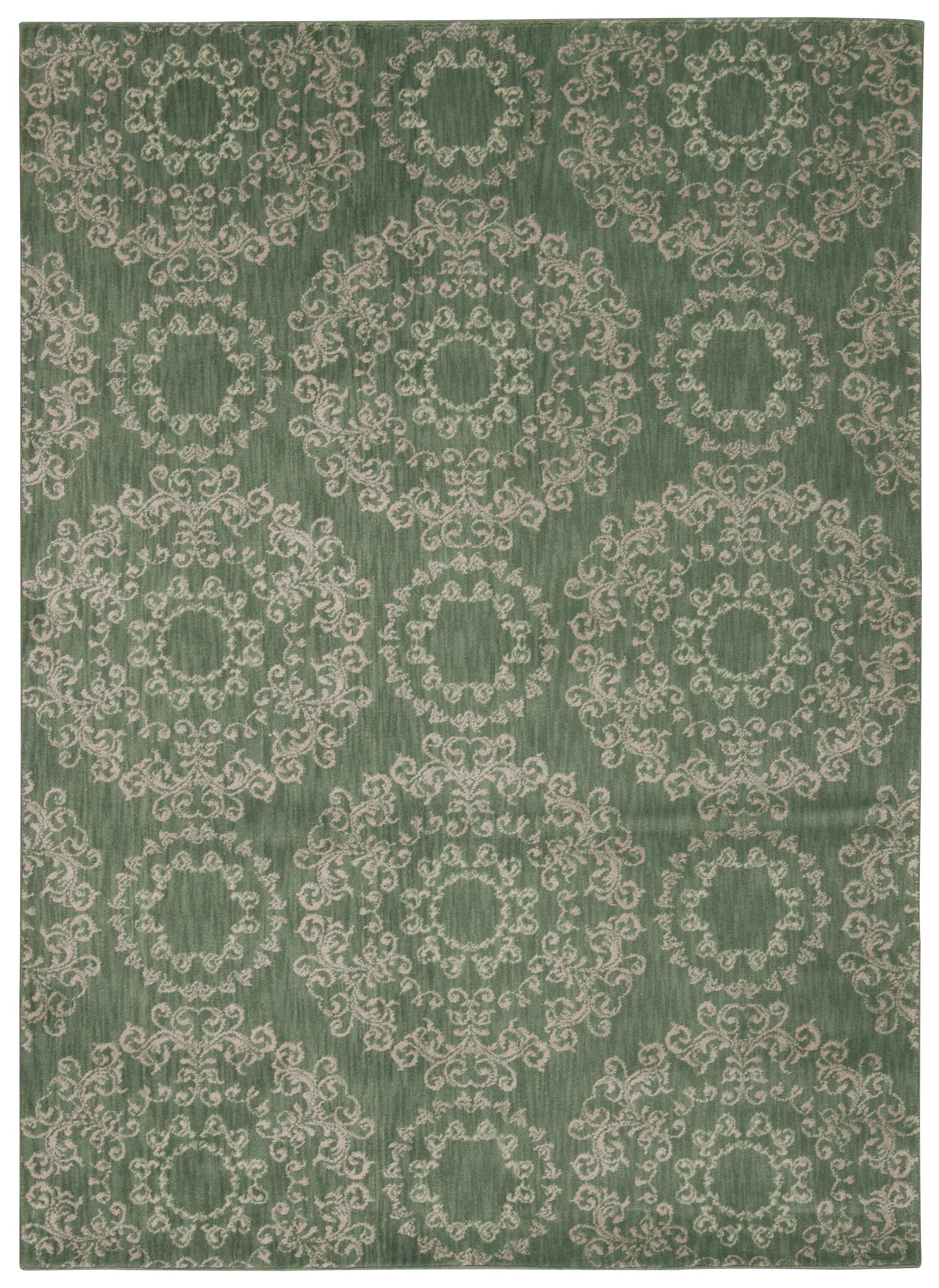 Fonzo Light Green Area Rug Rug Size: Rectangle 9'3