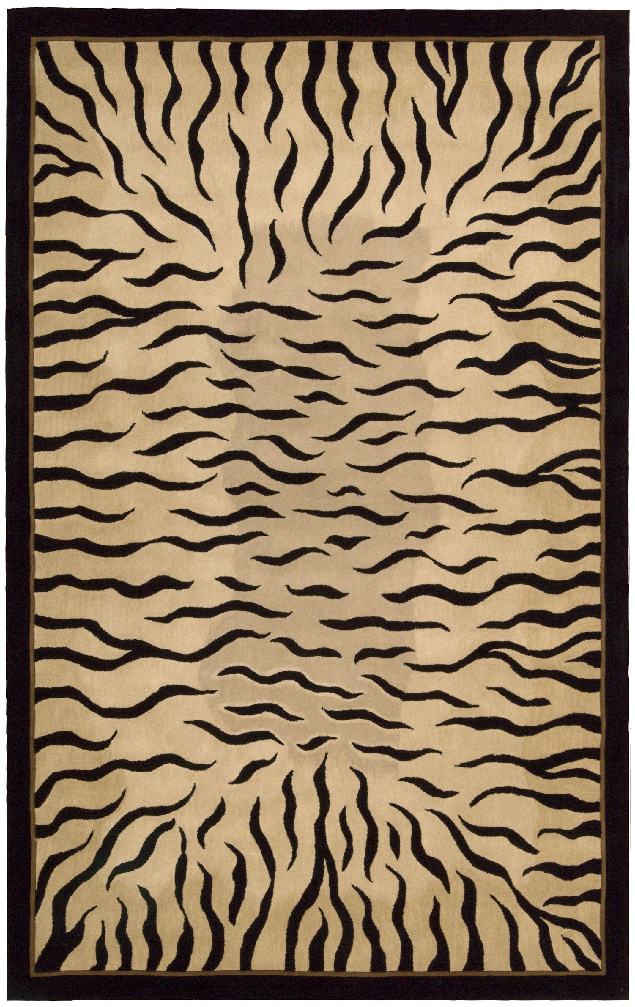 Pompano Park Ivory Area Rug Rug Size: Rectangle 8' x 11'