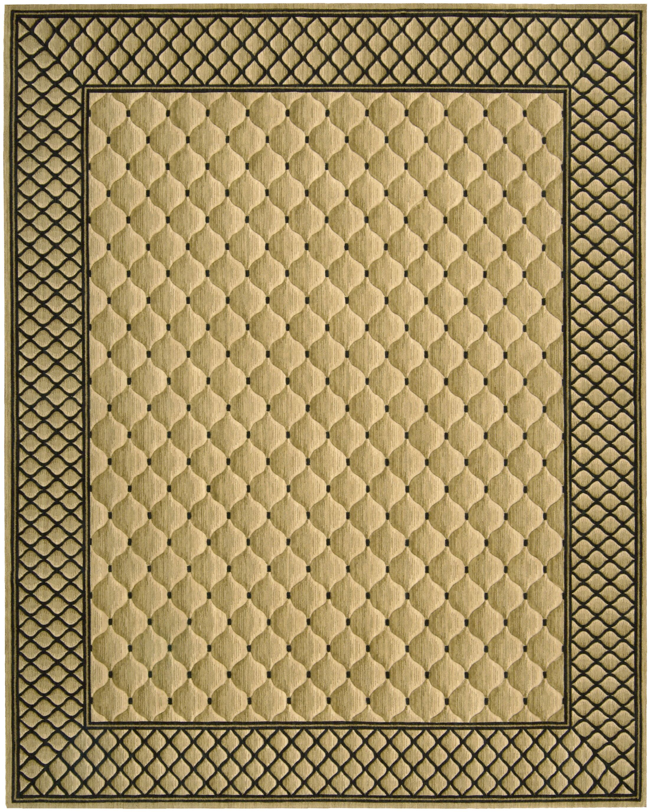 Bryn Beige/Black Area Rug Rug Size: Rectangle 2' x 3'
