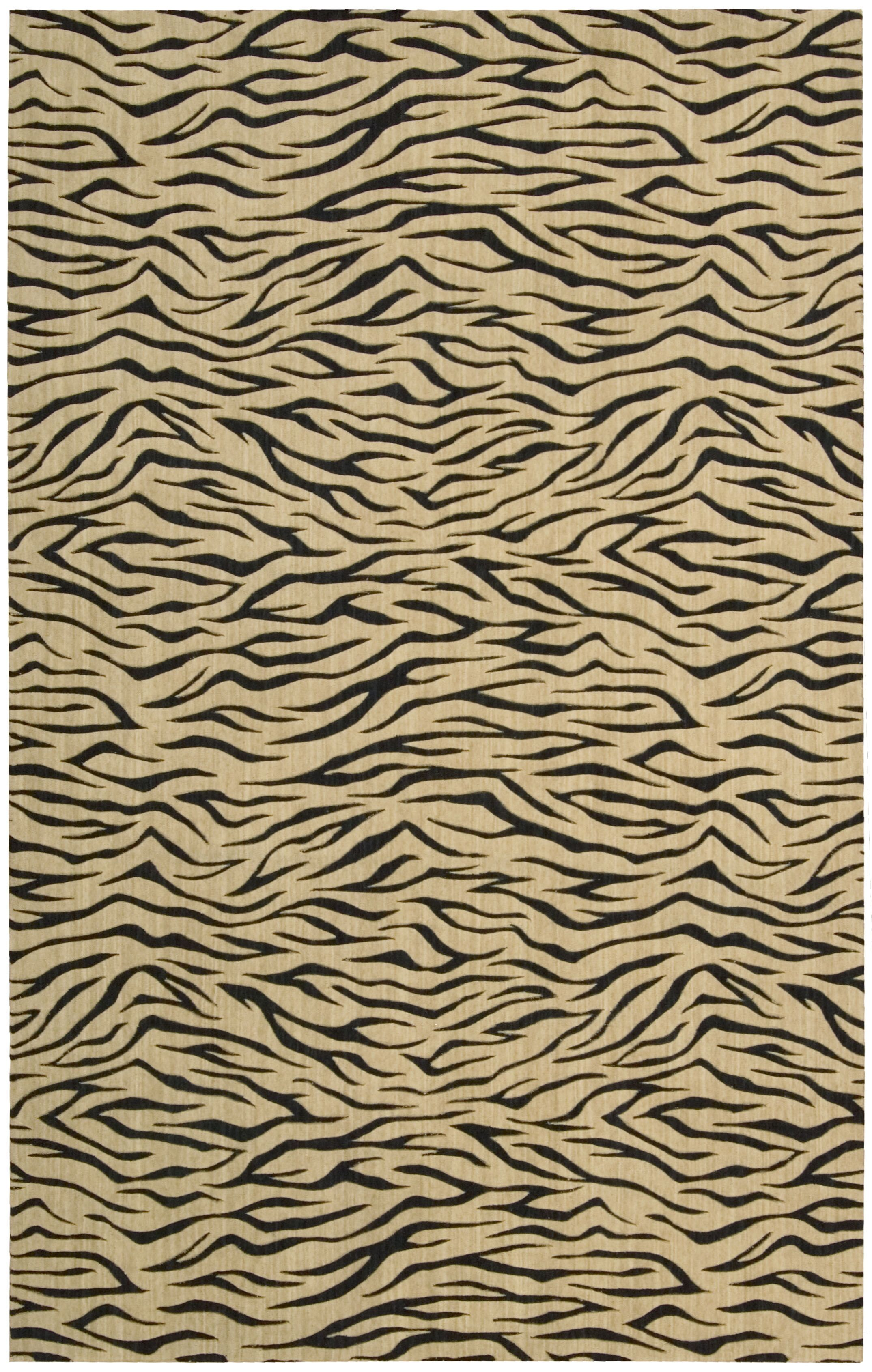 Dunnstown Hand-Woven Wool Beige Area Rug Rug Size: Rectangle 7'6