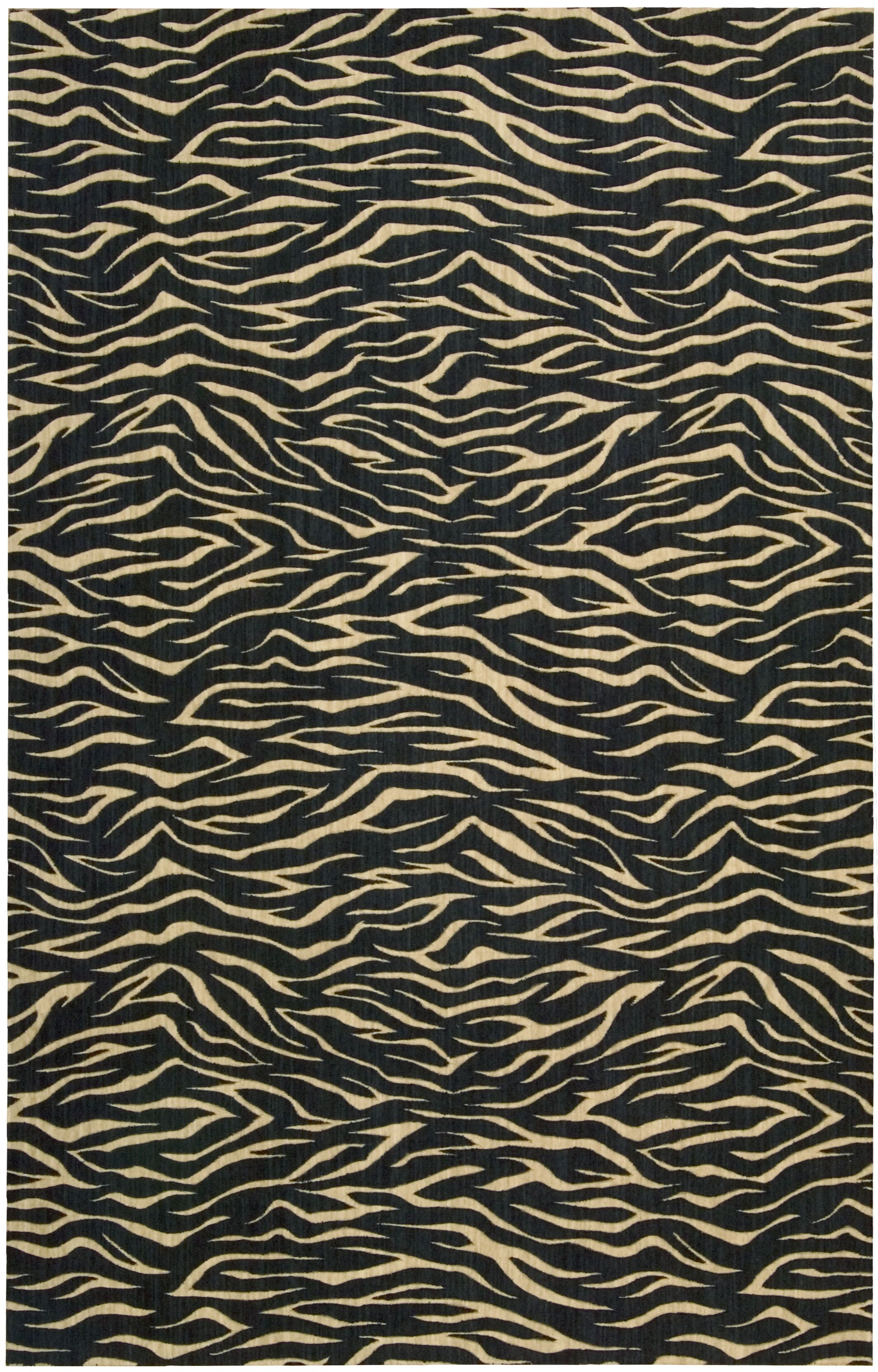 Dunnstown Hand-Woven Midnight Area Rug Rug Size: Rectangle 8'3