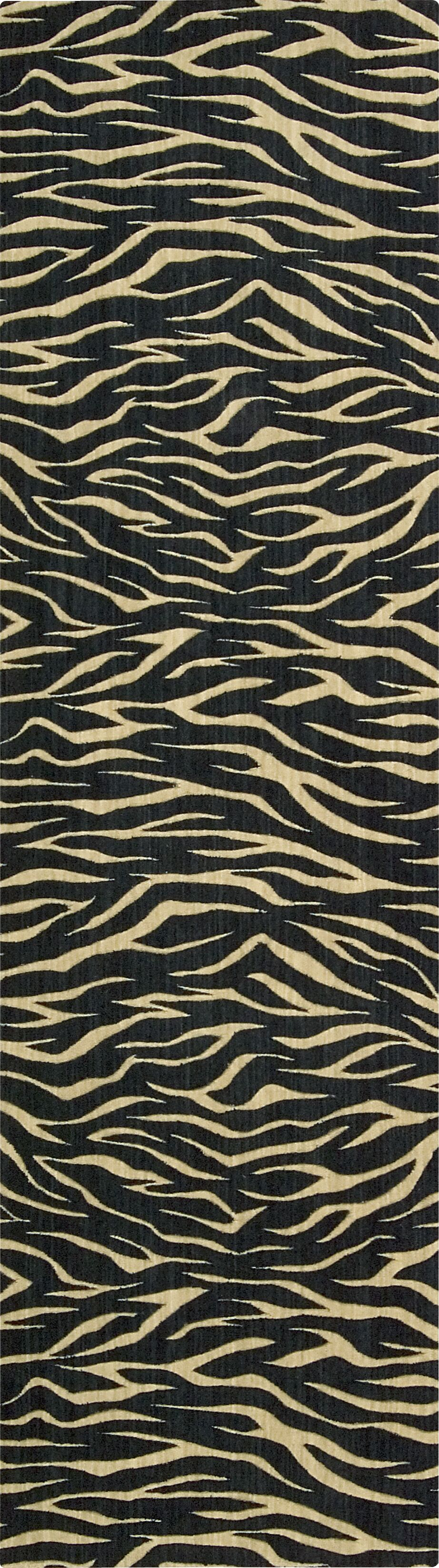 Dunnstown Hand-Woven Midnight Area Rug Rug Size: Runner 2'3