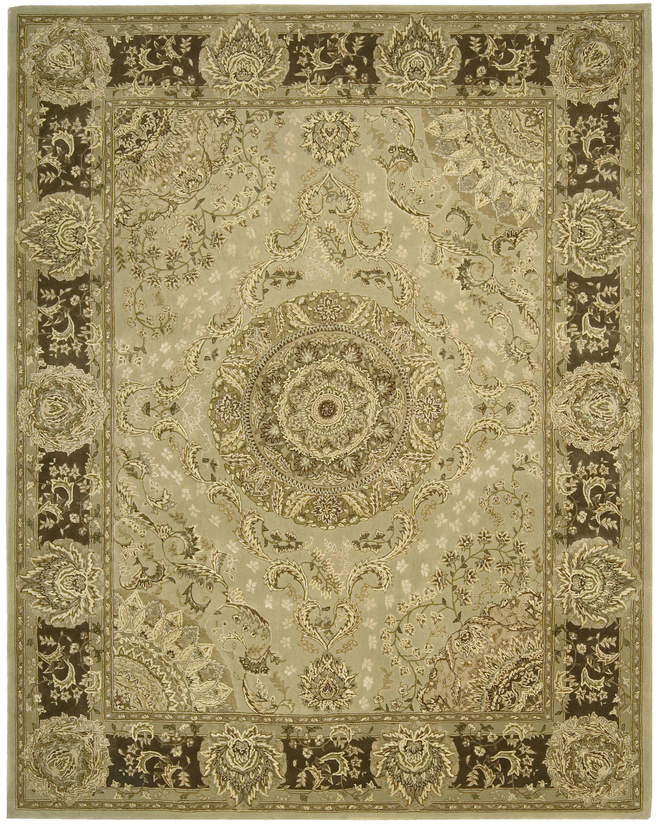 Buckhorn Hand Woven Wool Beige Indoor Area Rug Rug Size: Rectangle 5'6