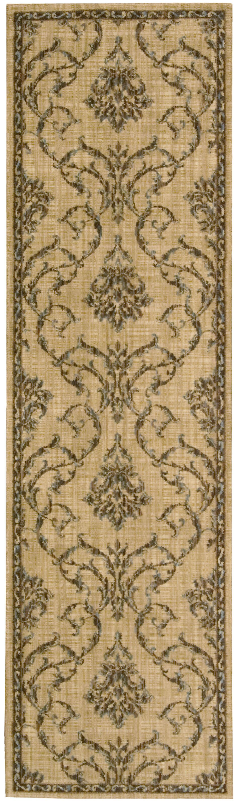 Paige Hand-Woven Beige Area Rug Rug Size: Runner 2'3
