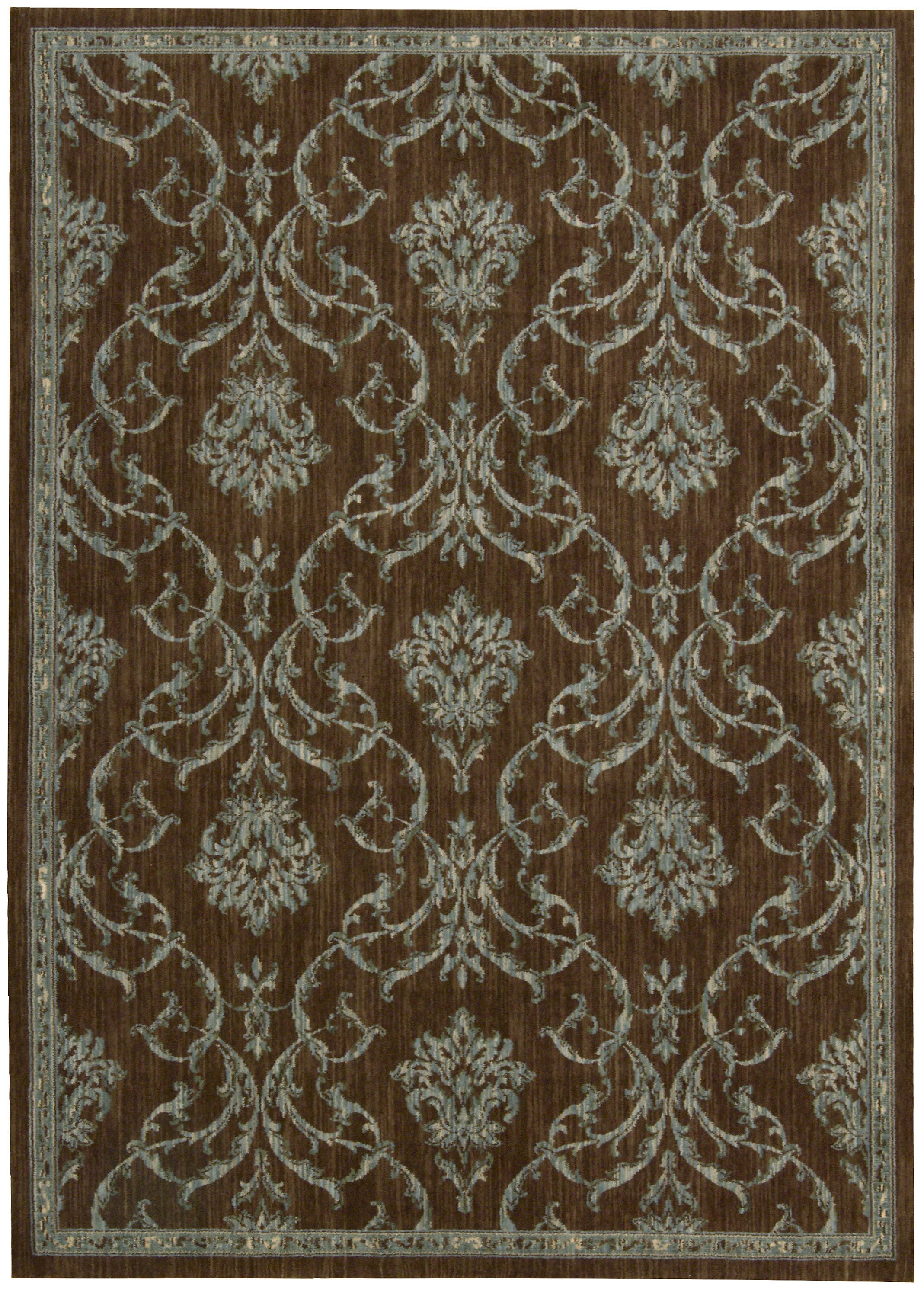 Paige Hand-Woven Brown Area Rug Rug Size: Rectangle 3'6
