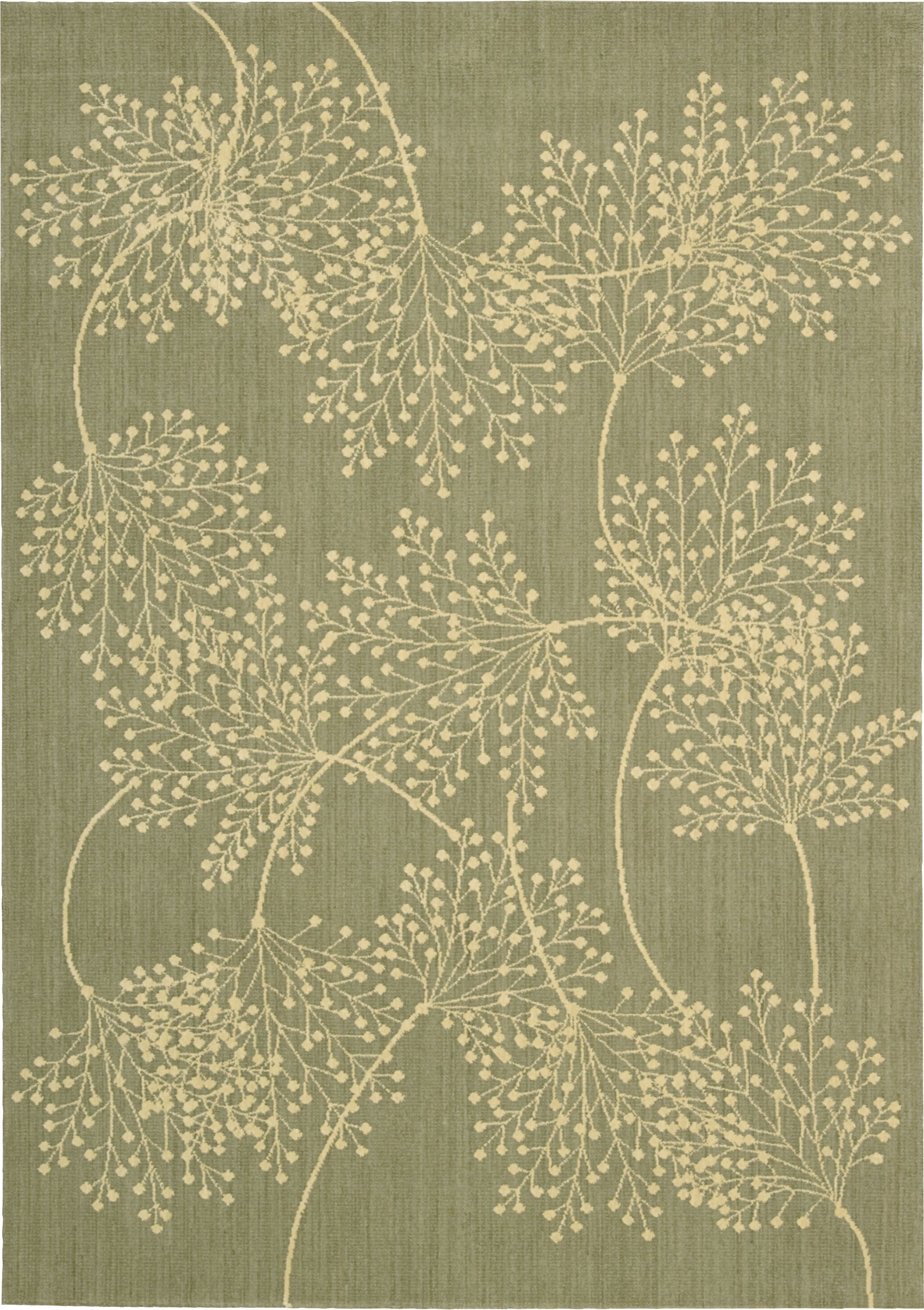 Hartville Sage Moss Area Rug Rug Size: Rectangle 3'6