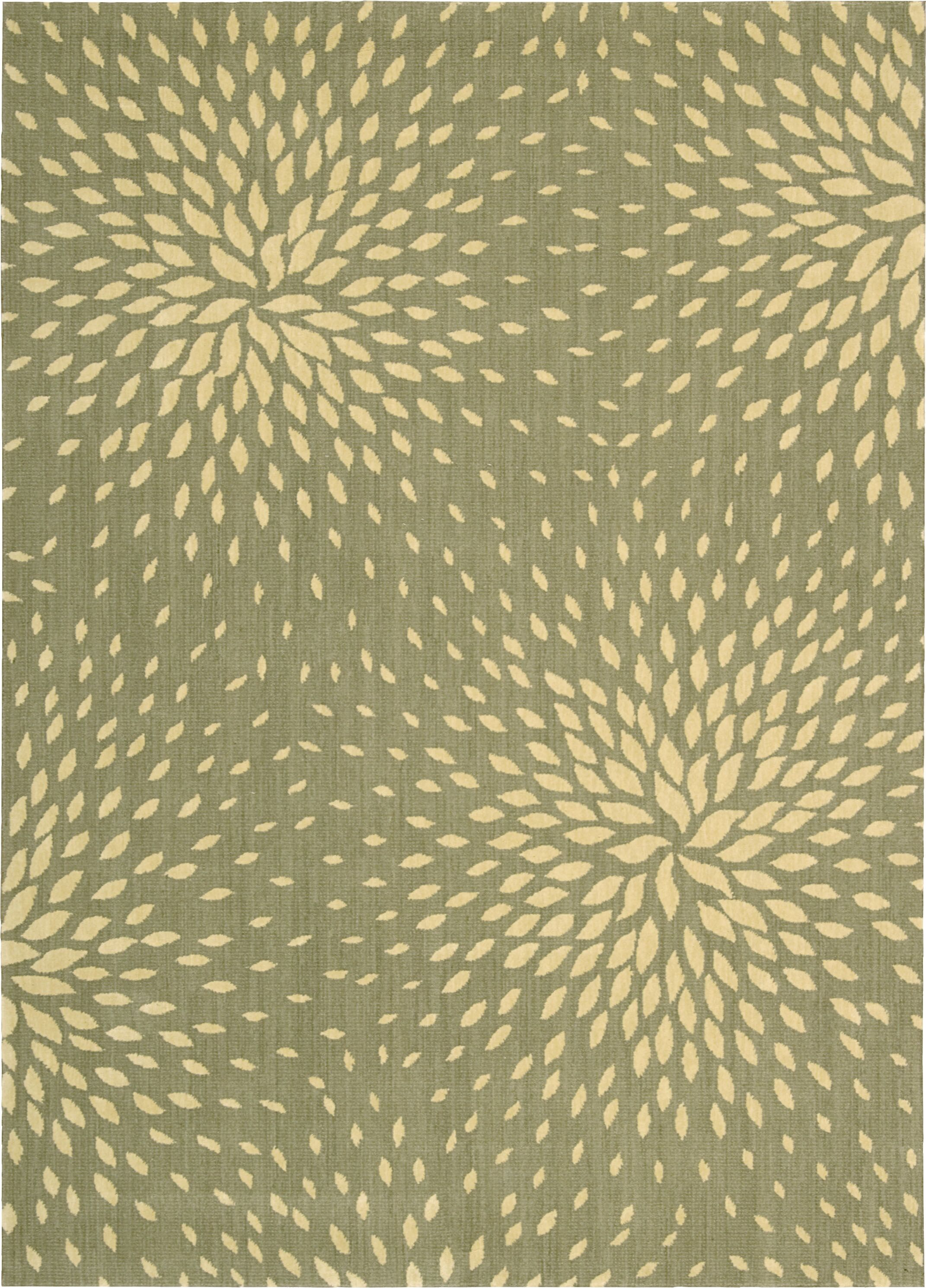 Jere Light Green Area Rug Rug Size: Rectangle 9'6