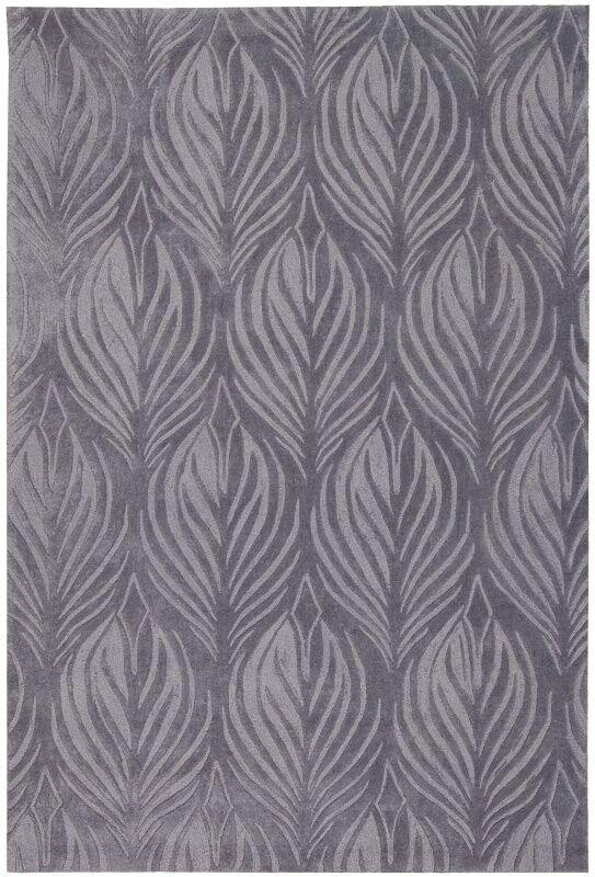 Rhames Hand-Tufted Slate Area Rug Rug Size: Rectangle 8' x 10'6