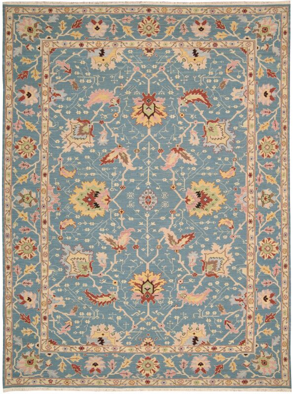 Pierson Hand-Woven Blue Area Rug Rug Size: Rectangle 5'10