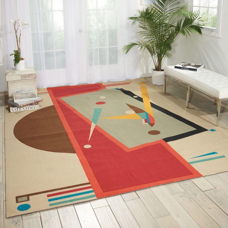 Shubhika Sandstone Rug Rug Size: Rectangle 4' x 6'